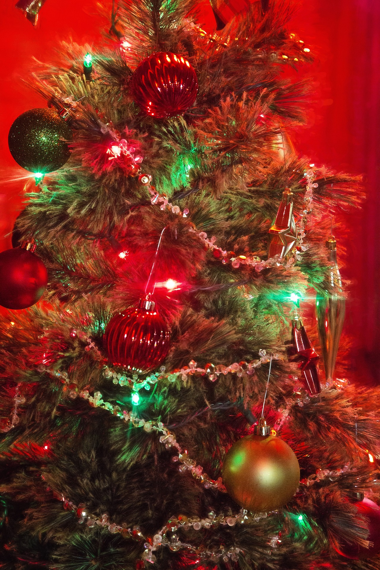 Christmas Tree, Balls, Baubles, Celebrate, Celebration, HQ Photo