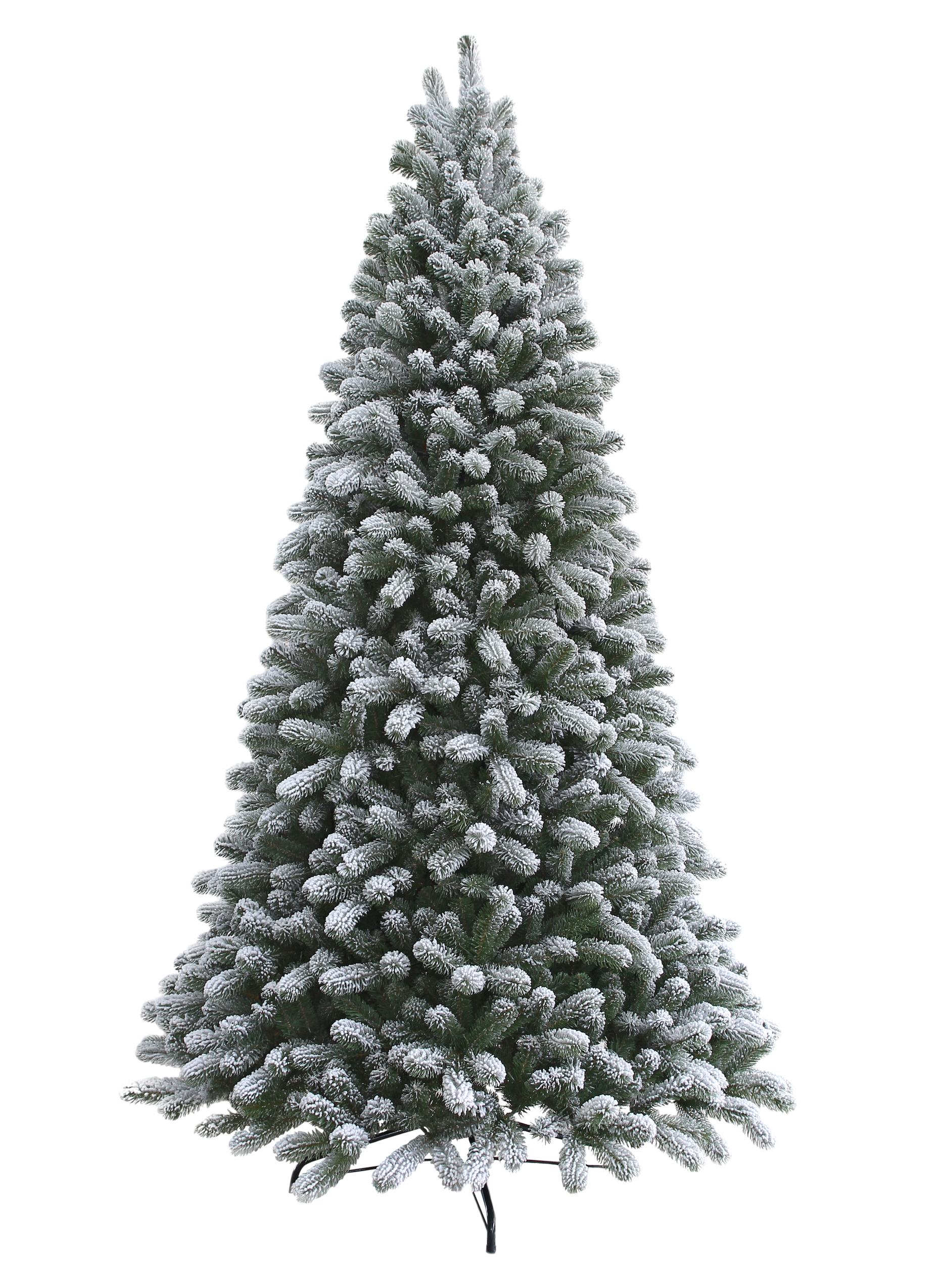 6.5 Foot King Flock Artificial Christmas Tree - Unlit | King Of ...
