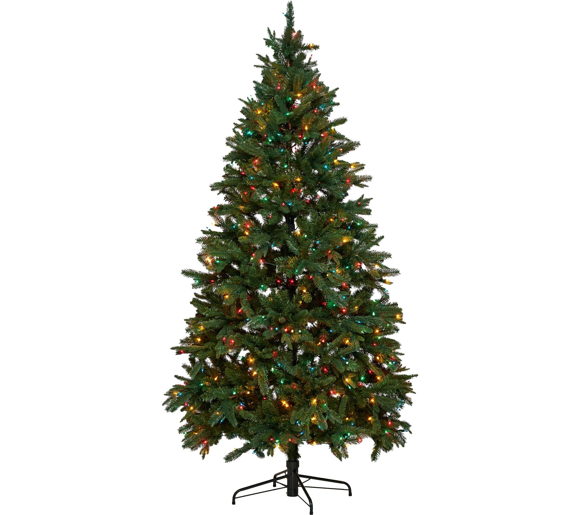 Hallmark 6.5' Heritage Mixed Tip Tree with Quick Set Technology ...