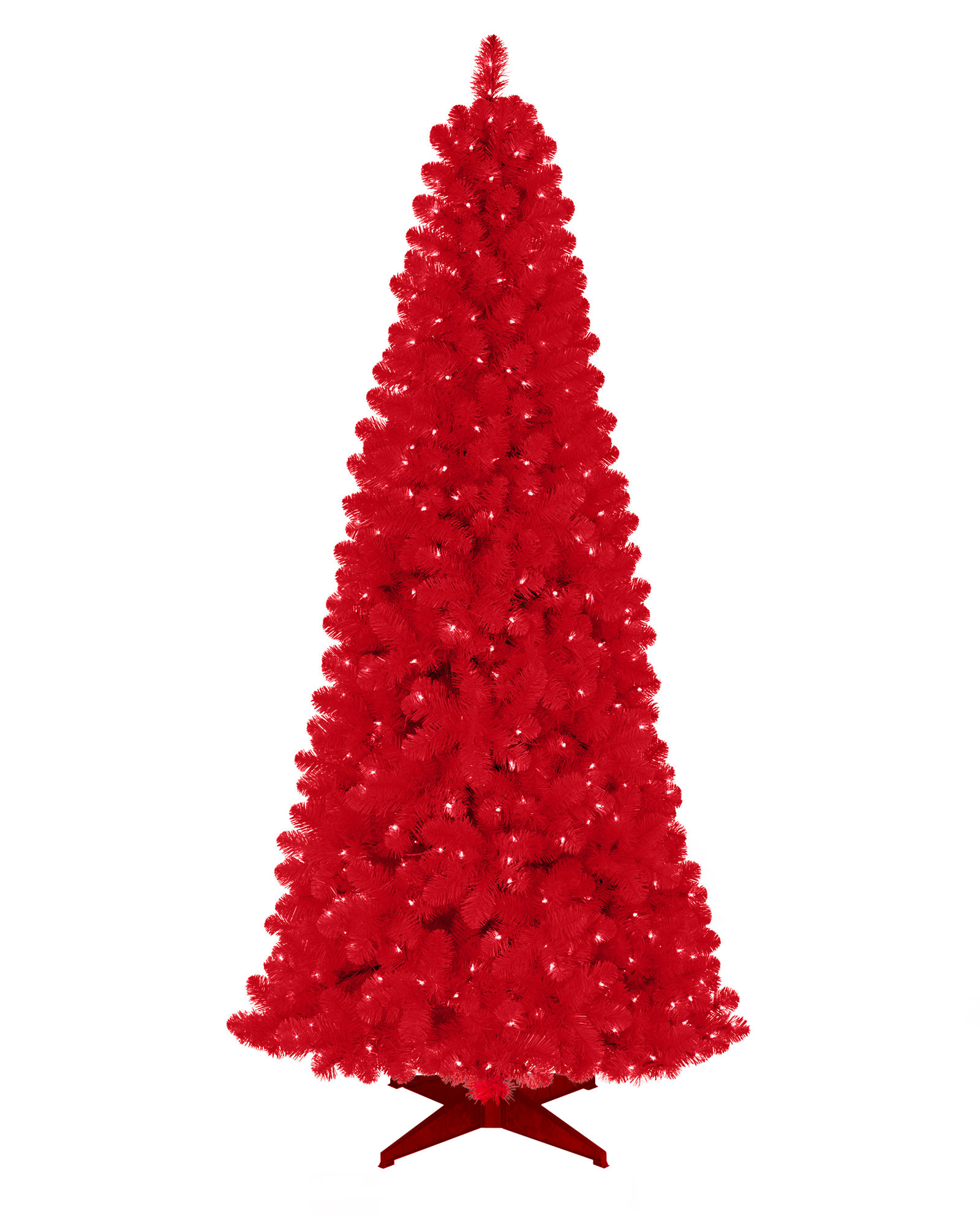Red Artificial Christmas Tree | Treetopia
