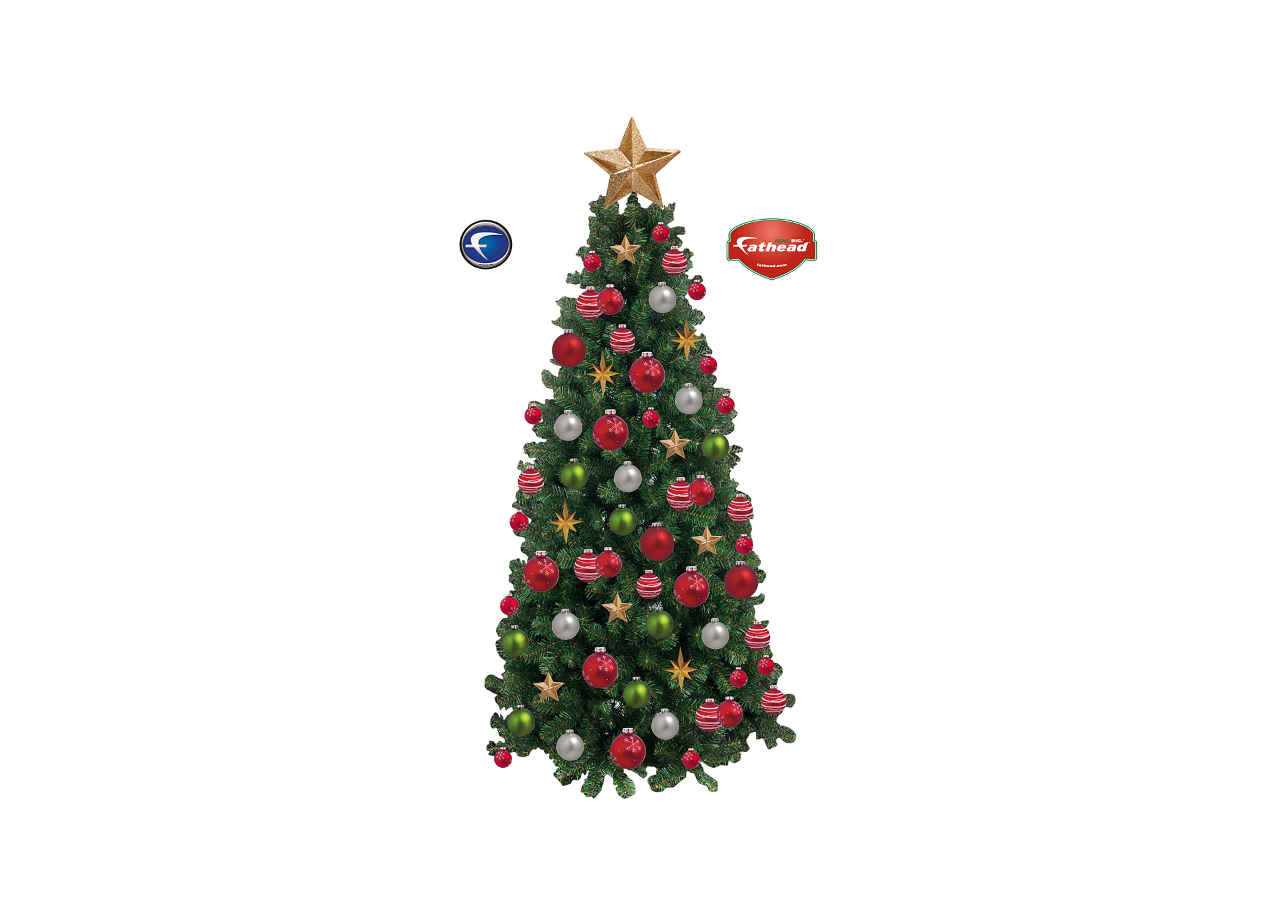 Christmas Tree Wall Decal | Shop Fathead® for Christmas Decor