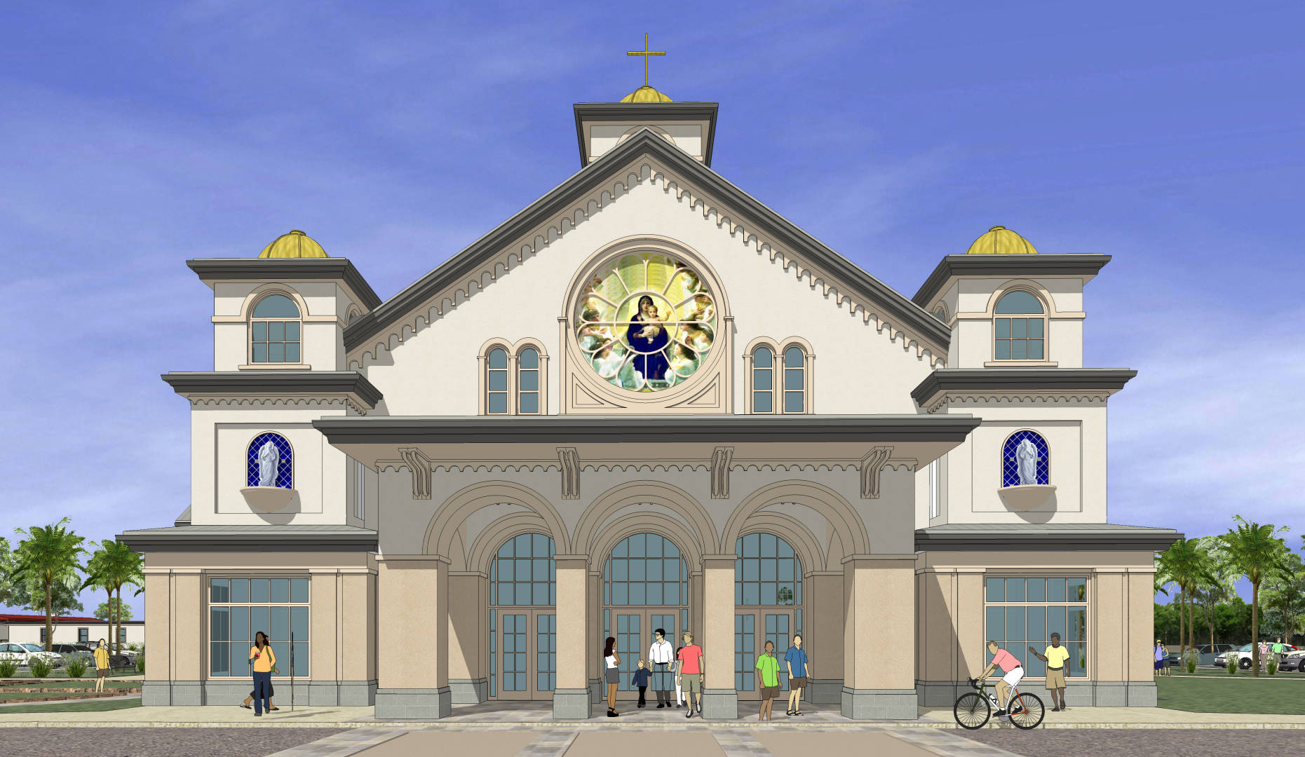 Our New Church | Our Lady of the Angels Catholic Church