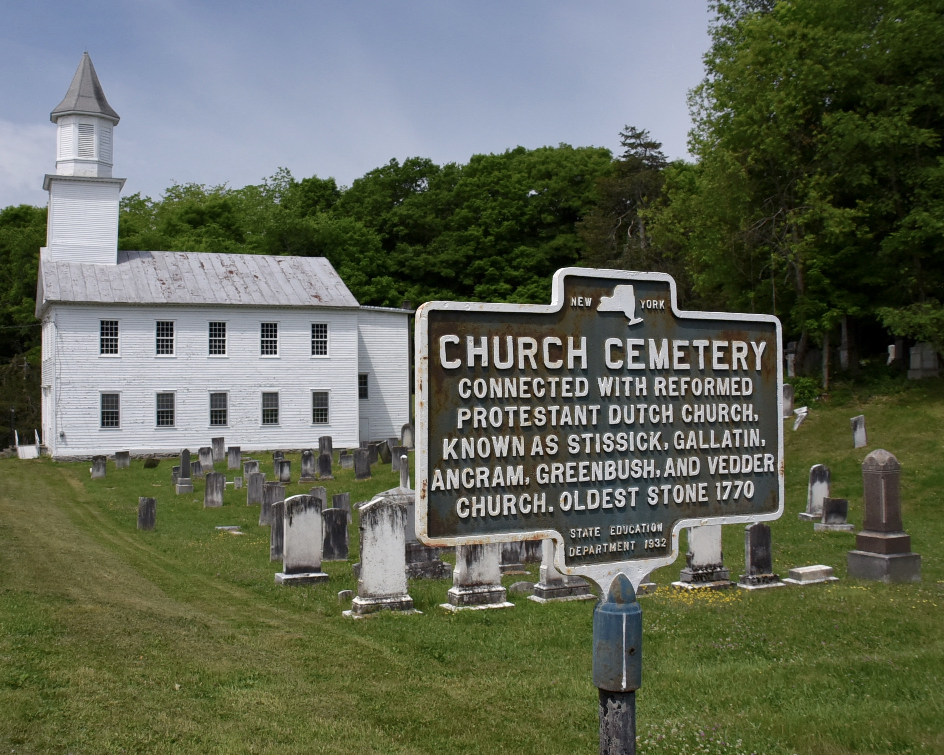 Gallatin Reformed Church Cemetery in Gallatinville, New York - Find ...