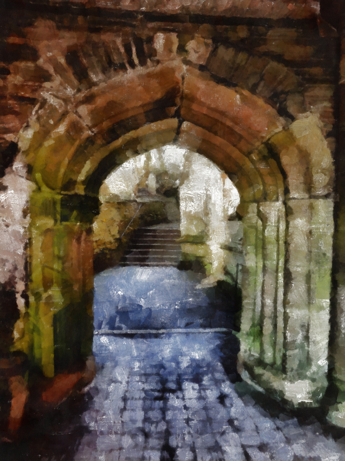Church Archway, Arch, Architecture, Archway, Art, HQ Photo