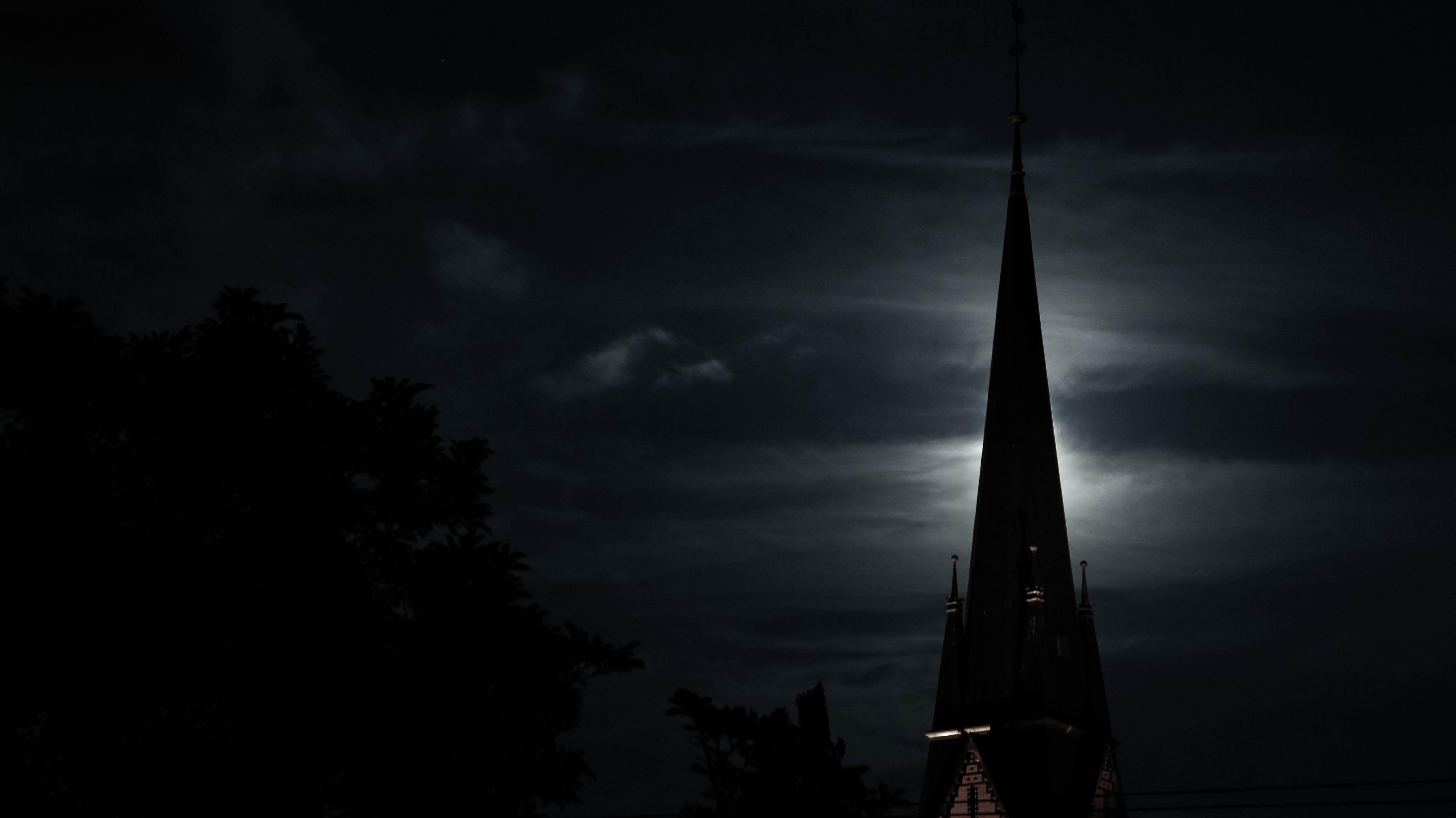 Church at night photo