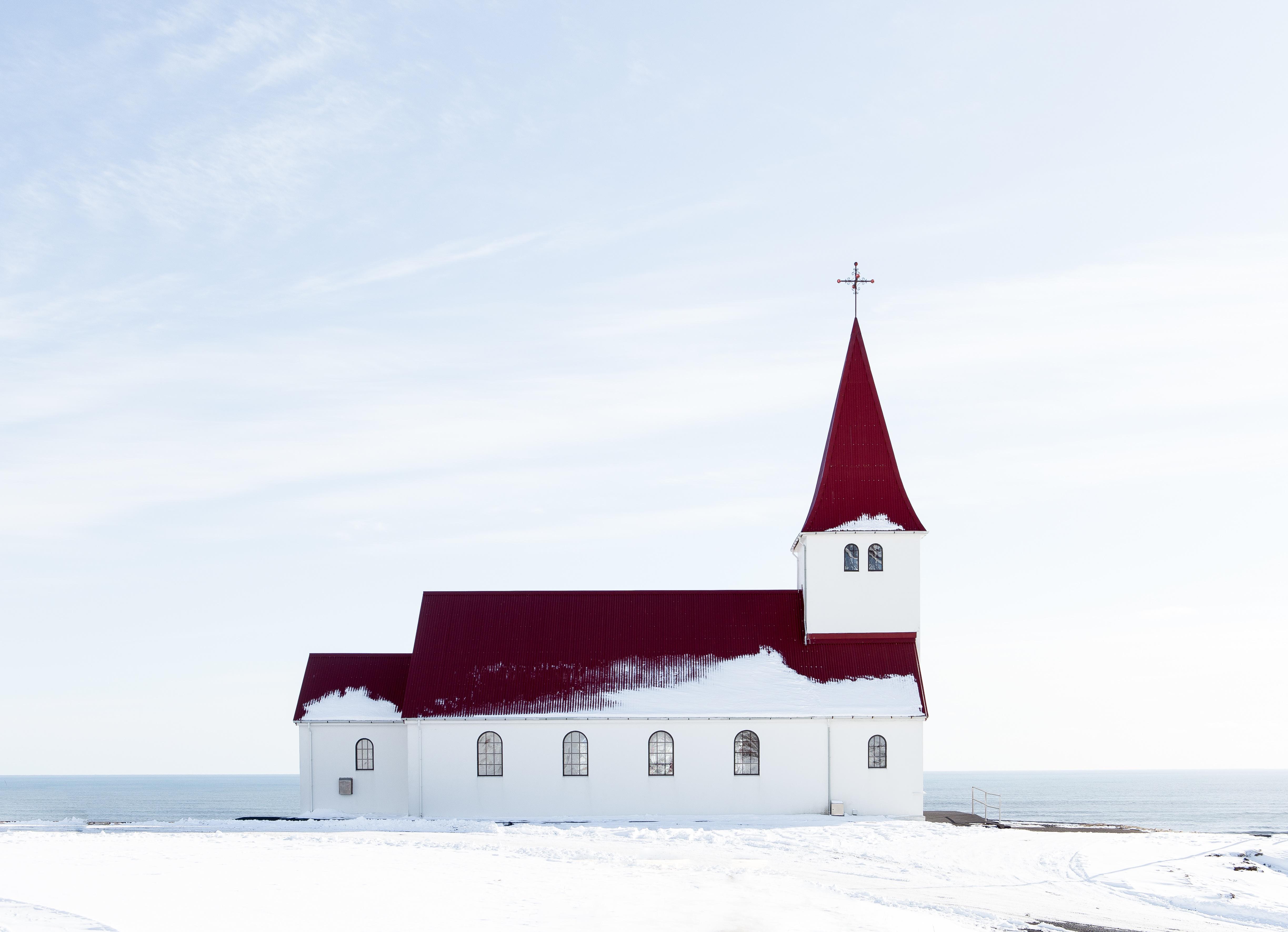 Church by the sea photo