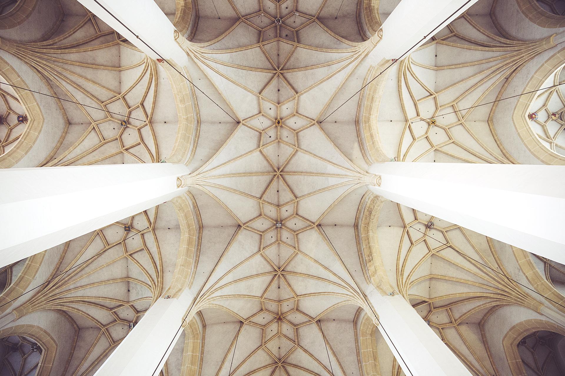 Church ceiling photo