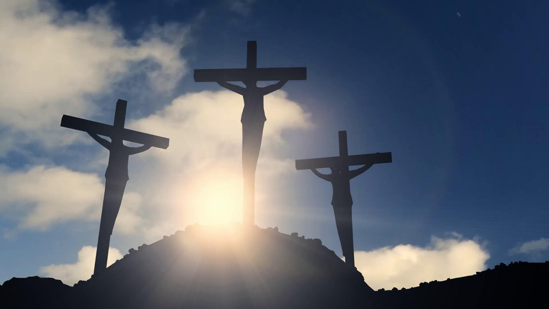 Religious cross photo