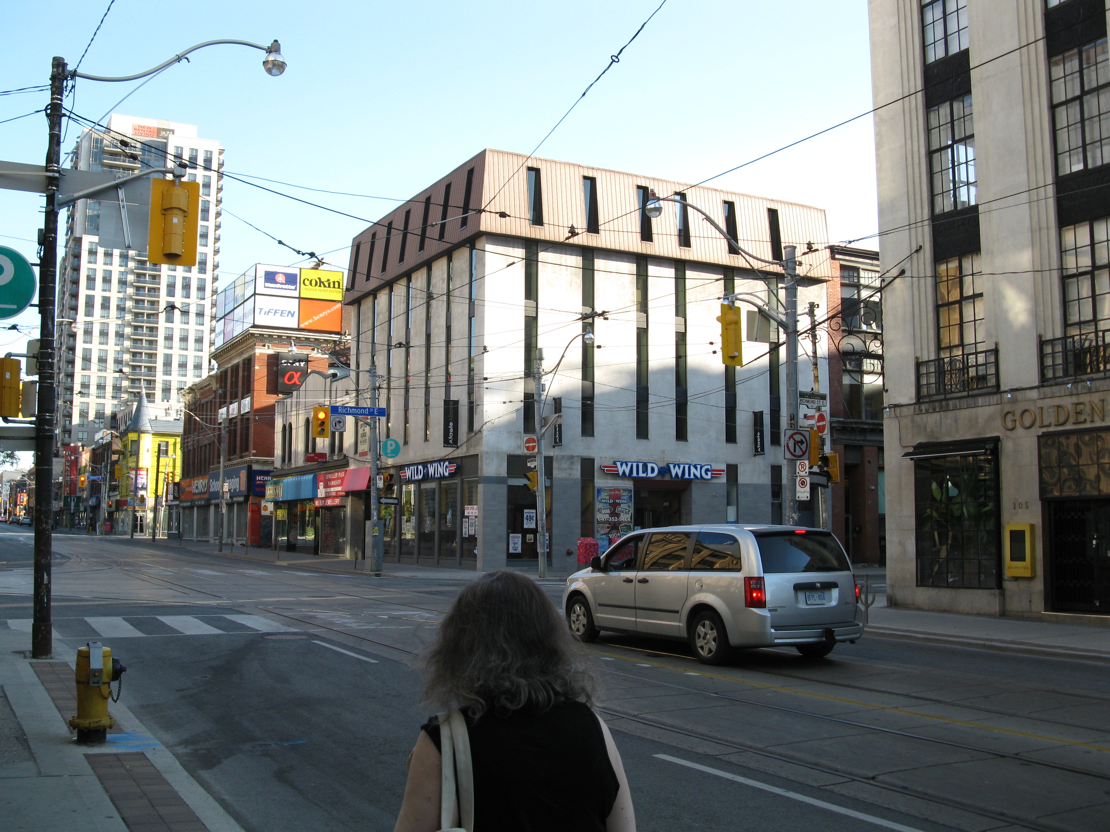 Church south of Queen.jpg, Architecture, Building, Intersection, Outdoor, HQ Photo