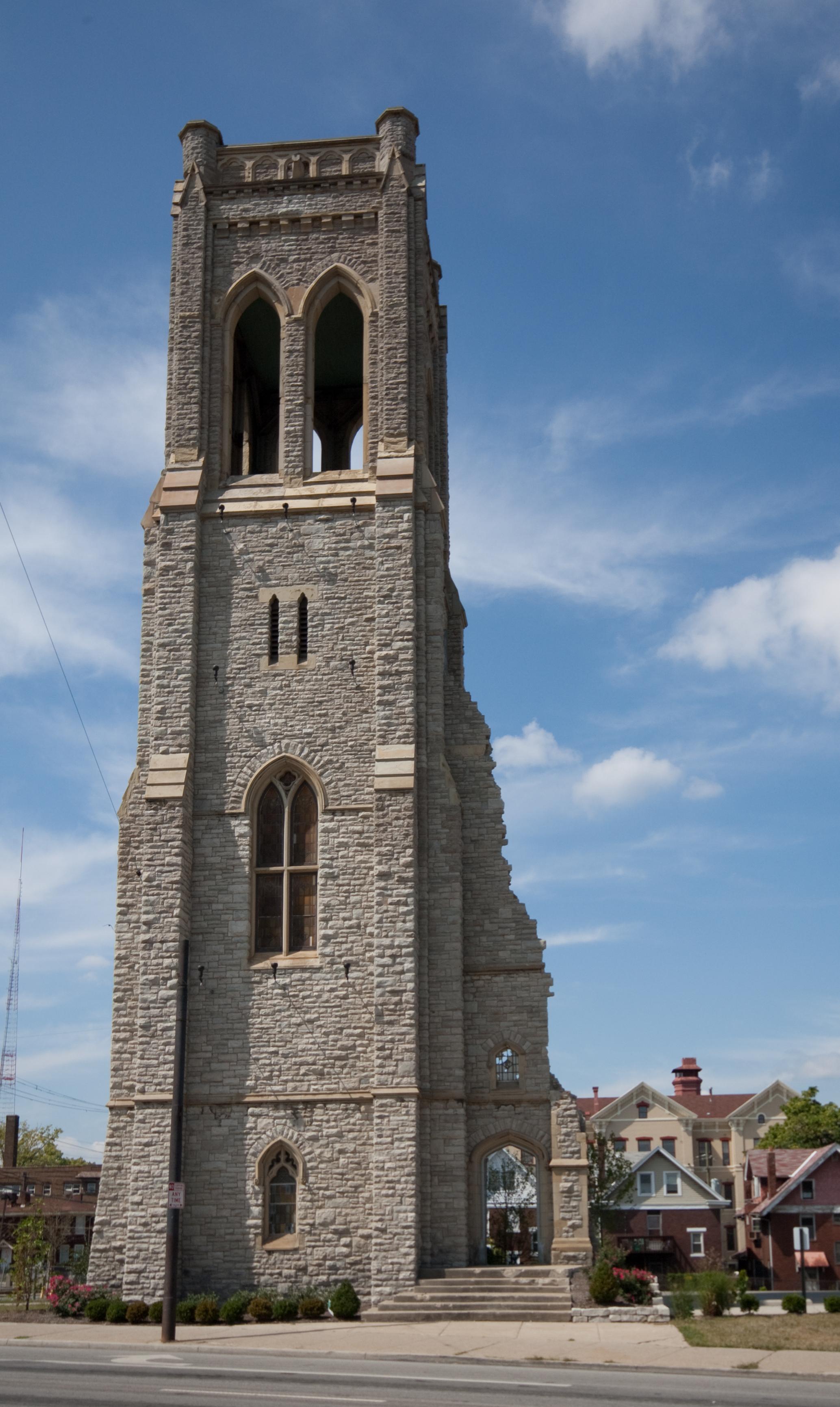 Church tower photo