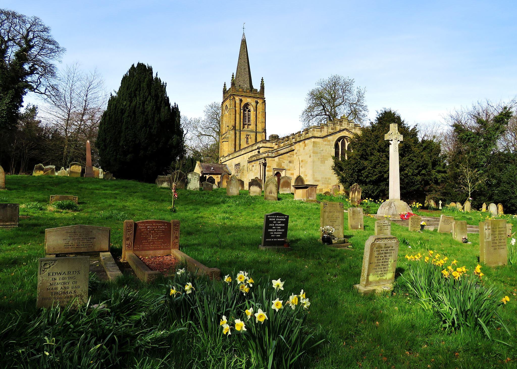 Churchyard - St Cuthberts Church Ormesby