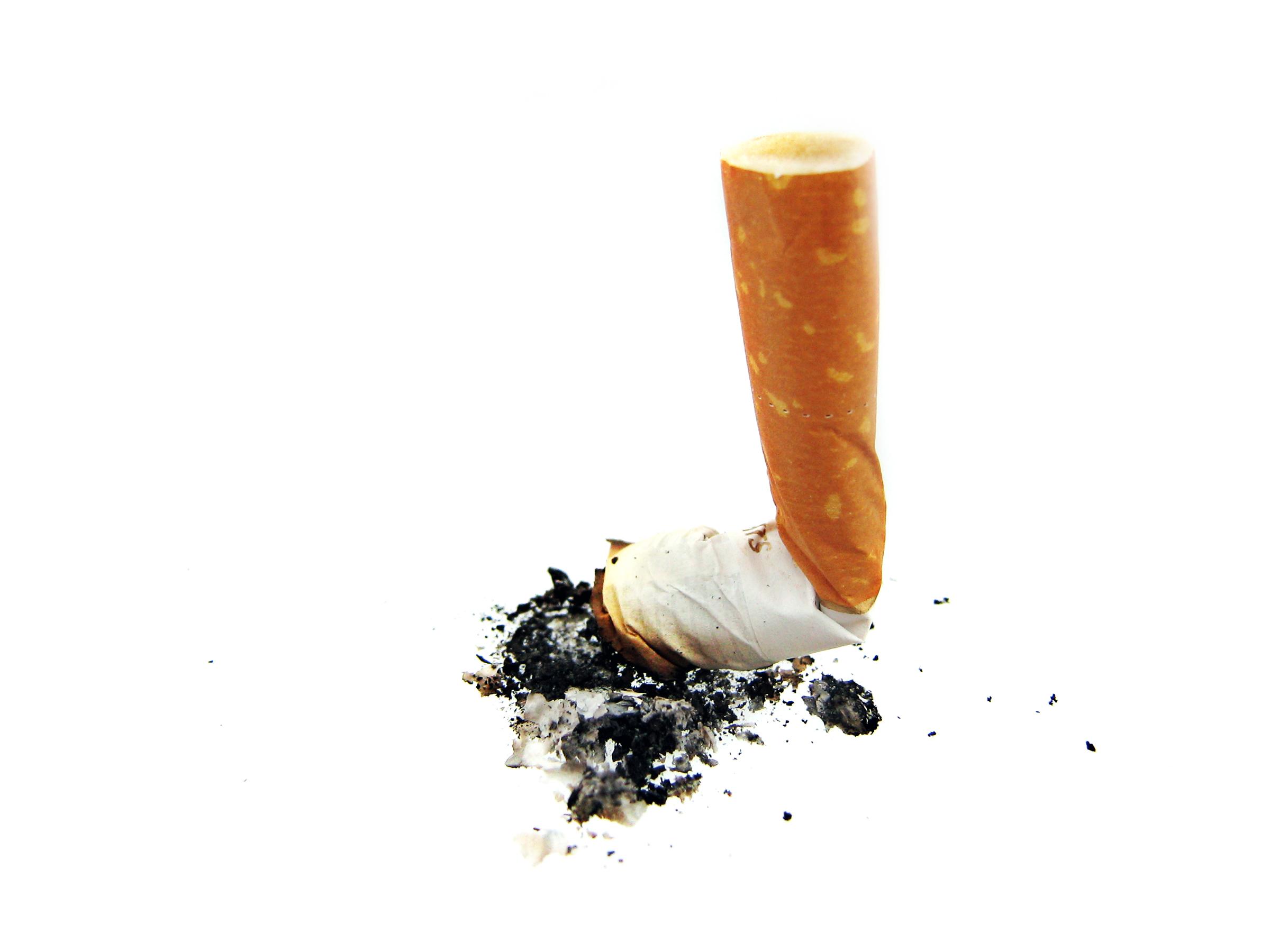 Cigarette butt photo
