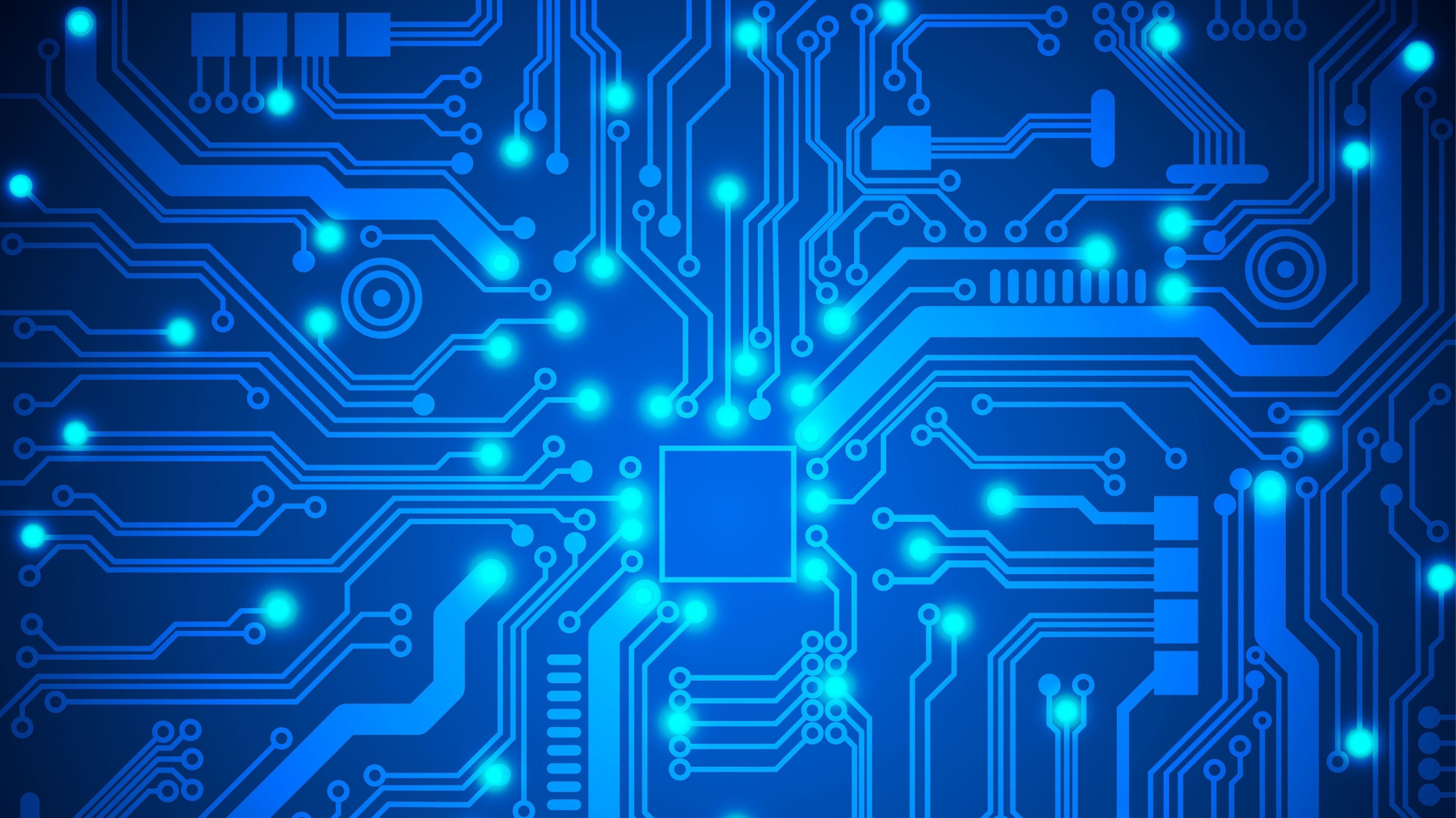 Electronic circuit card photo
