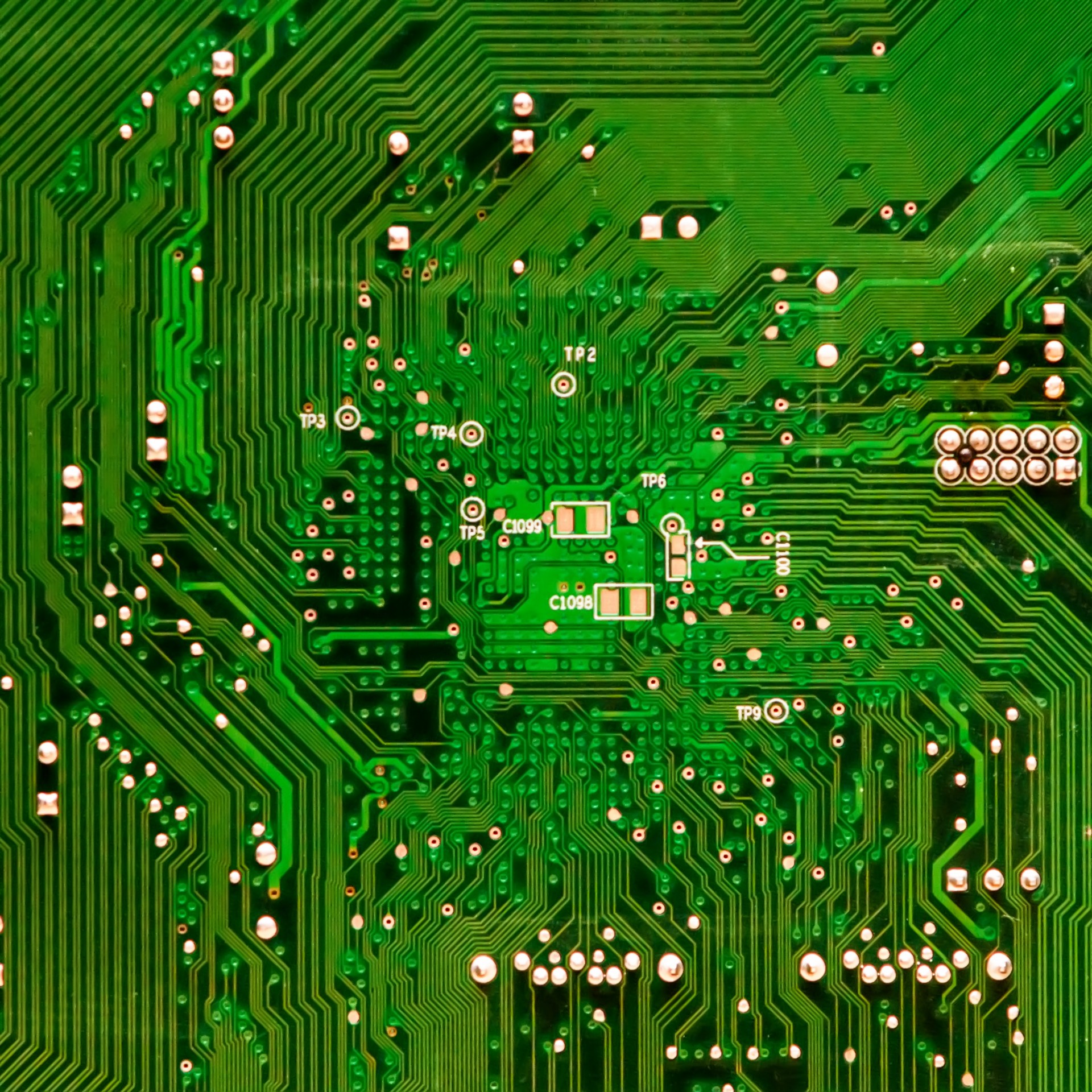 Free Photo Computer Circuit Board Microprocessor Motherboard Electronic Boards Assembly Royalty Stock Image