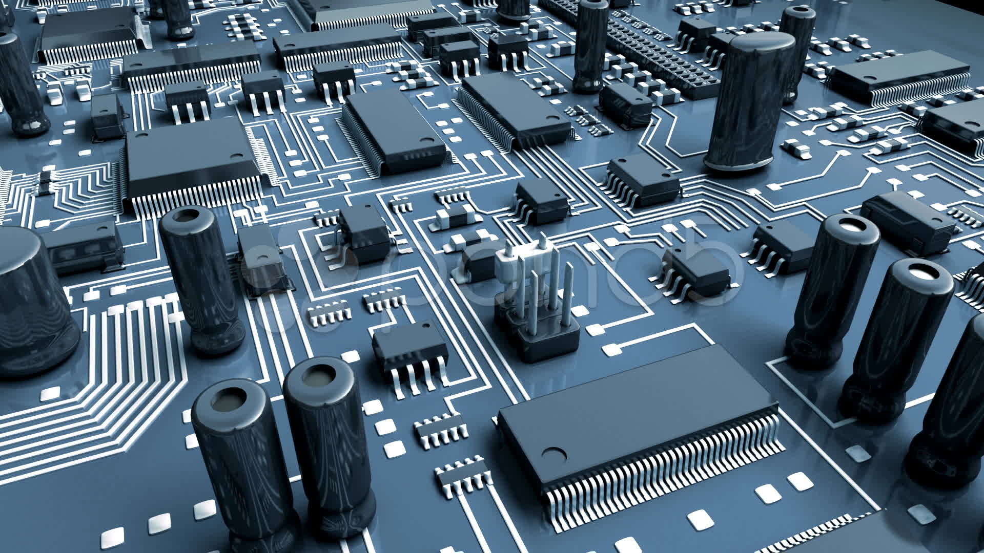 Free Photo Circuit Board Green Pc Shapes Download Jooinn Old Electronics Royalty Stock Image