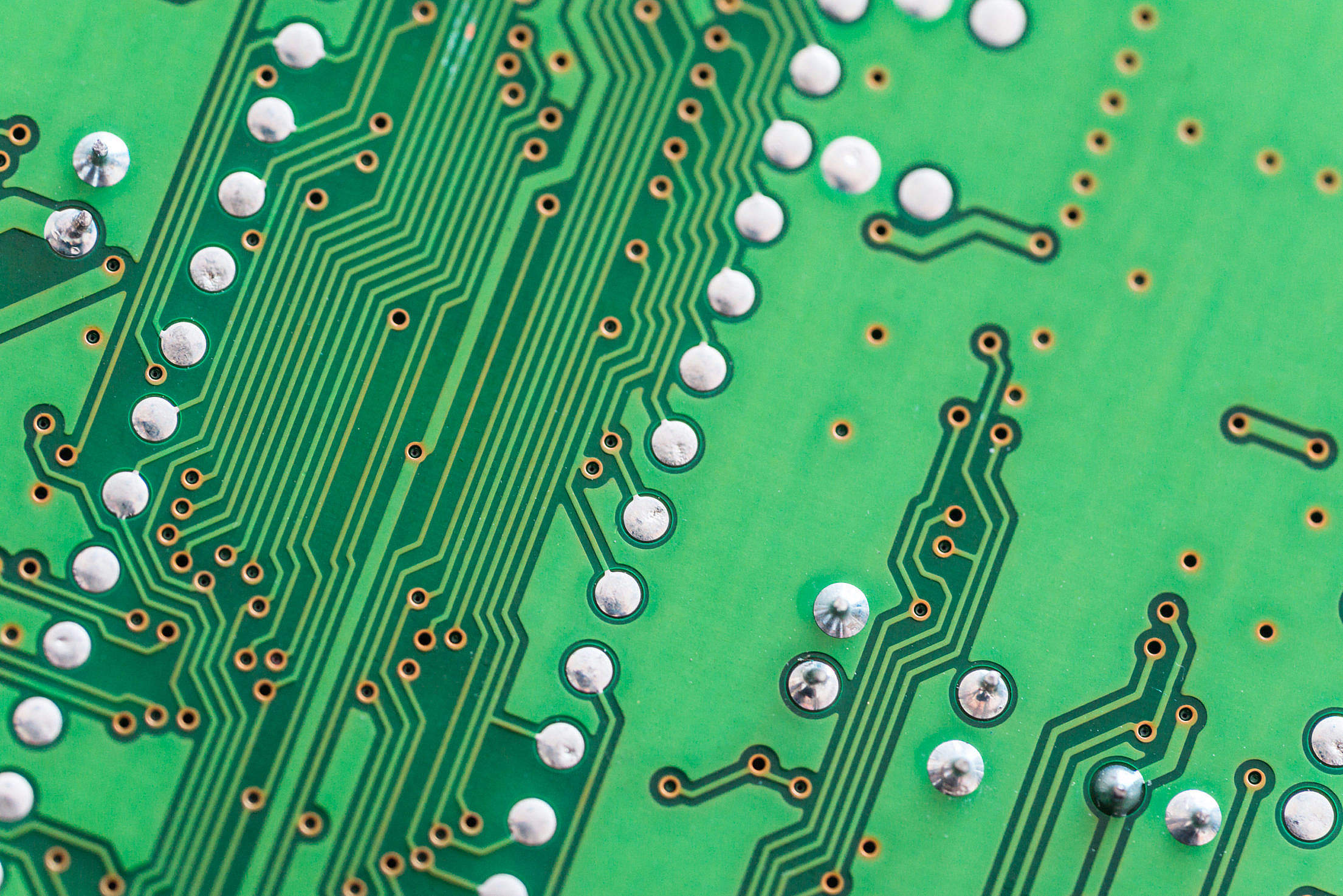 Electronic Circuit Board Close Up Background Free Stock Photo ...