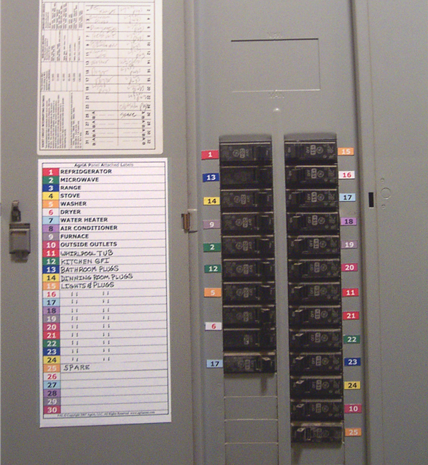 Free photo: Circuit Breaker Panel - panel, electricity, electric ...