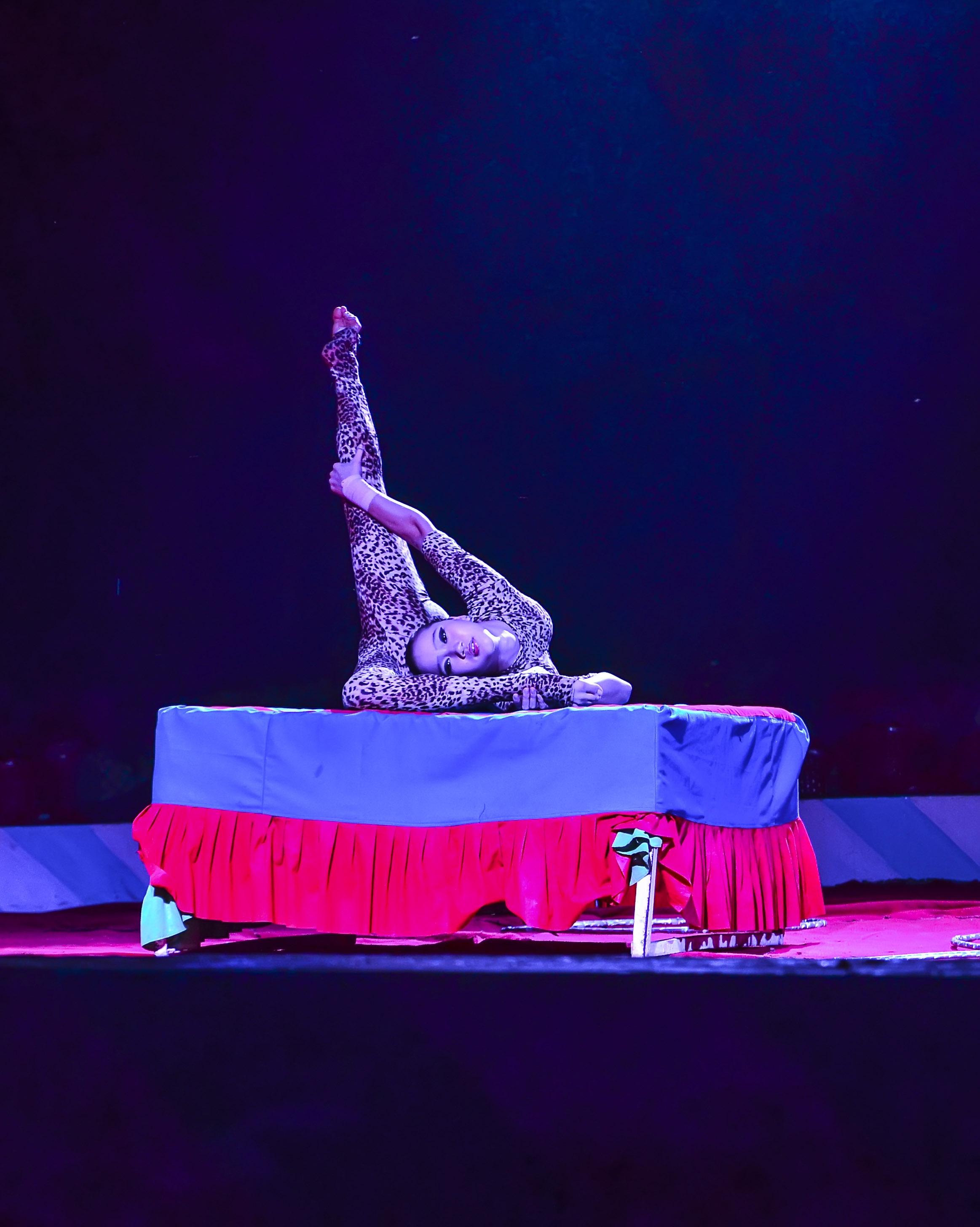 Circus acrobat photo