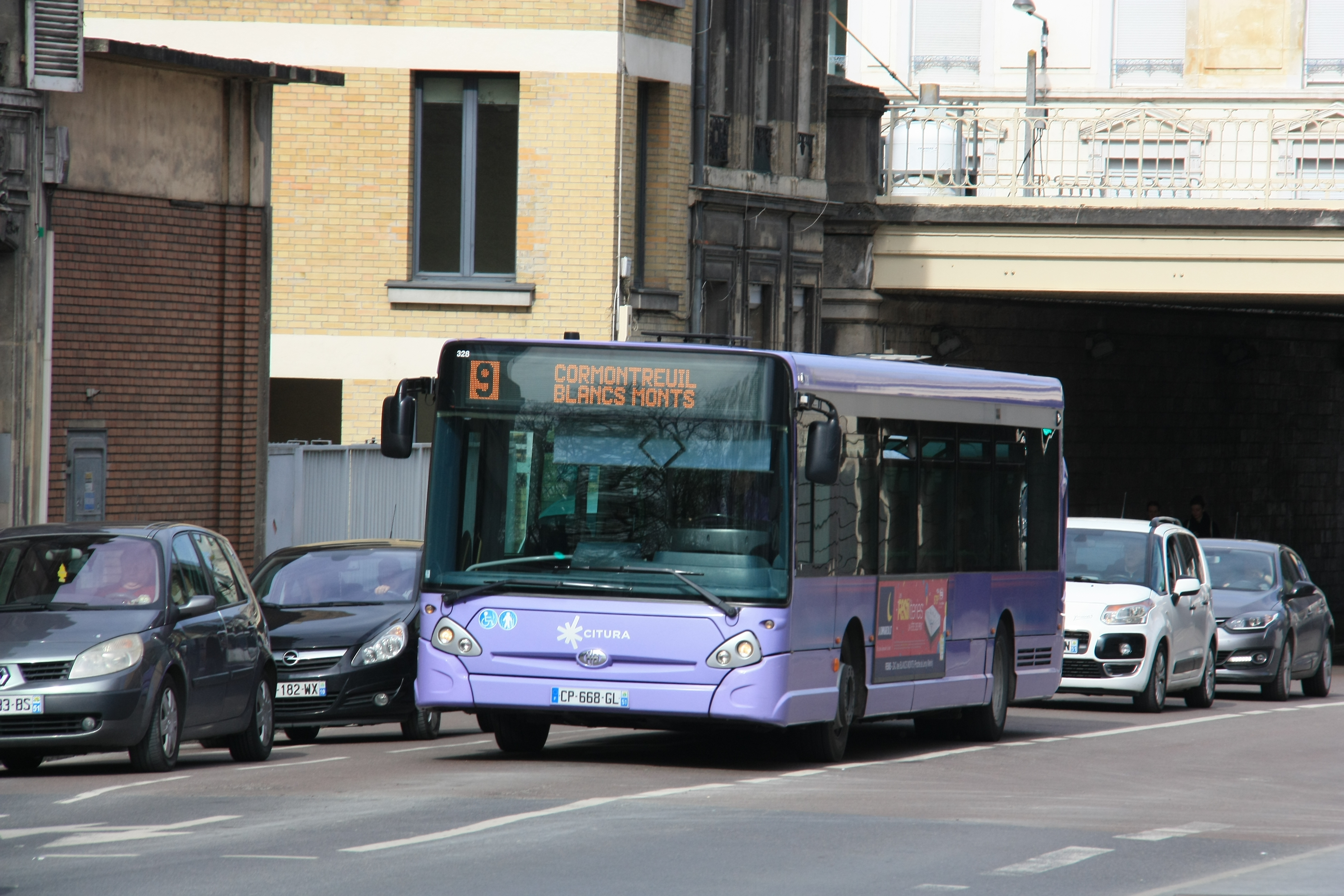 Citura - heuliez bus gx327 n°328 - ligne 9 photo