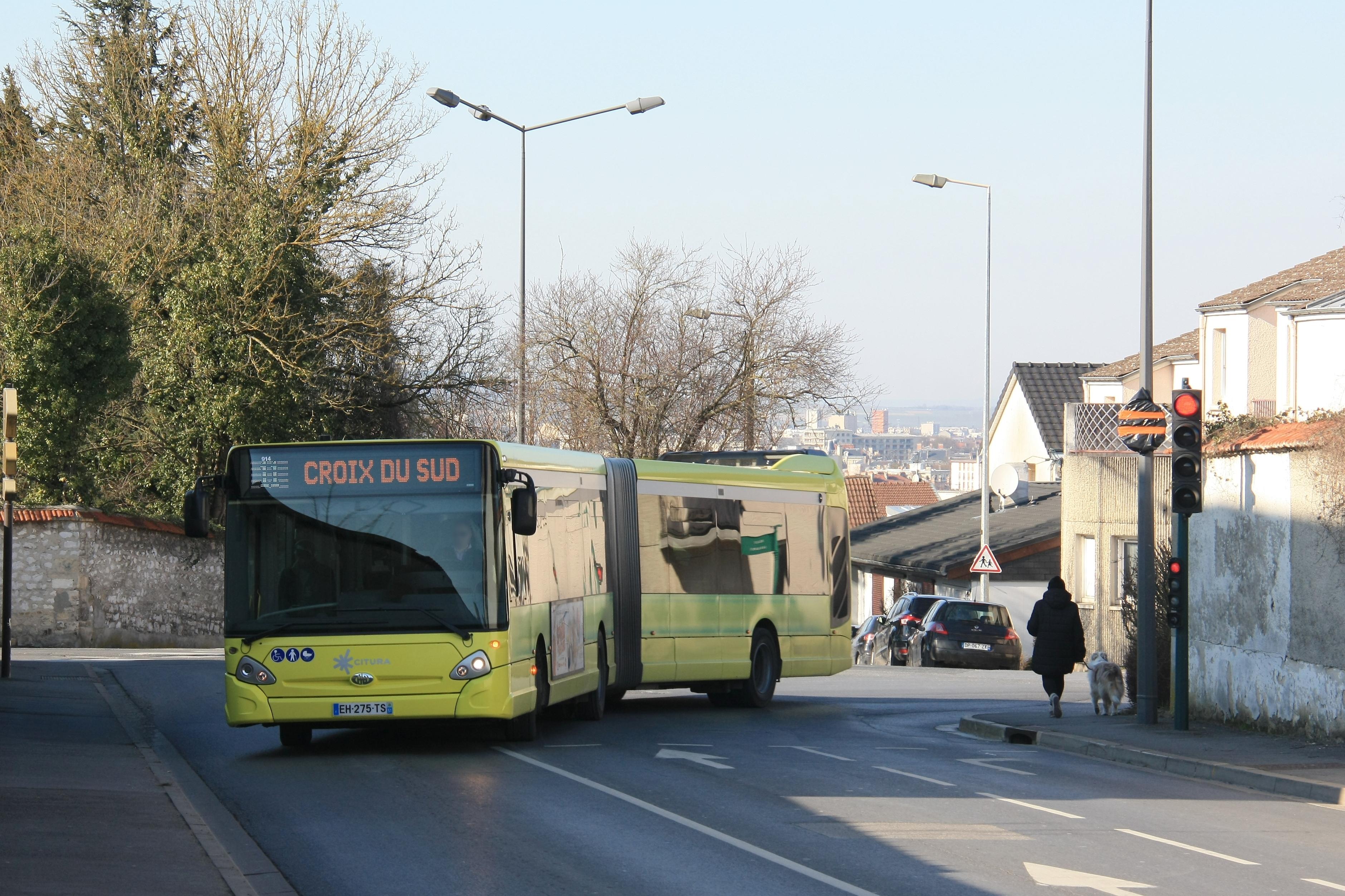 Citura - heuliez bus gx437 n°914 - ligne 11 photo