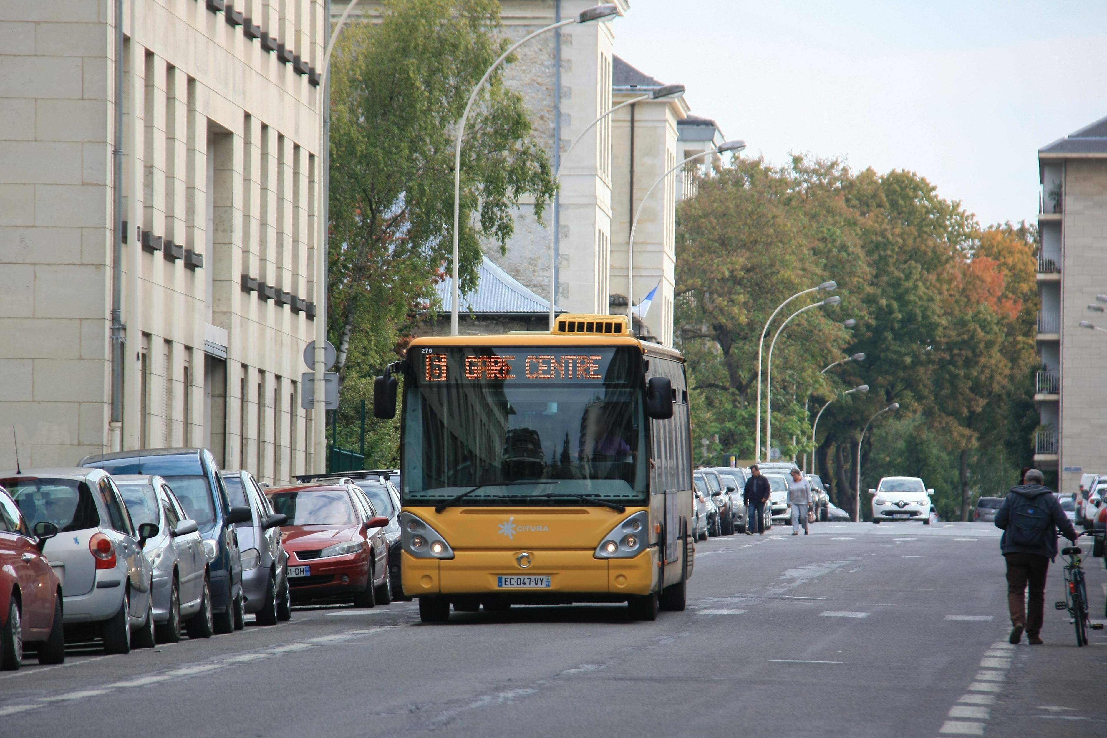 Citura - irisbus citelis 12 n°275 - ligne 6 photo