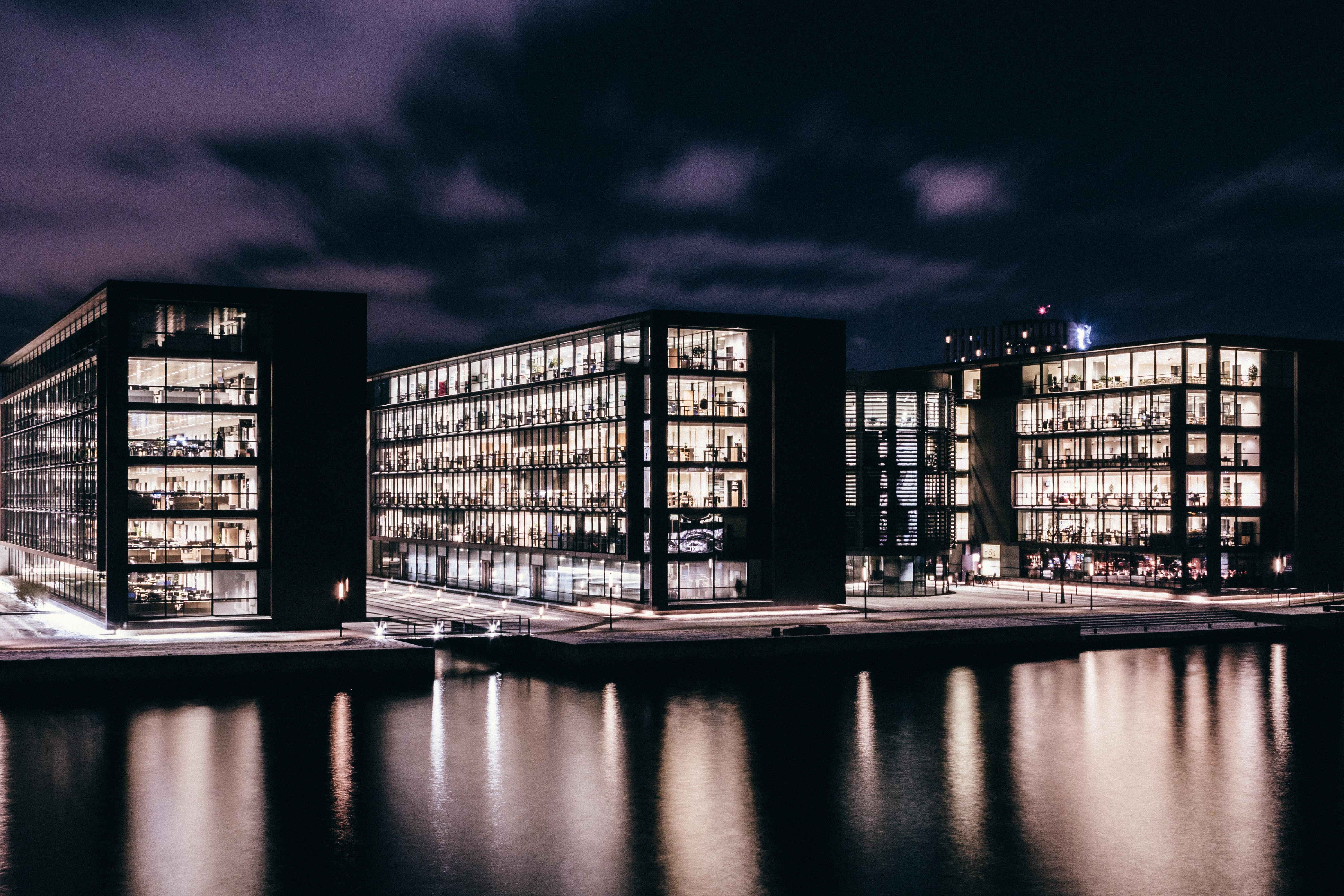 City, Building, Construction, Flat, Light, HQ Photo