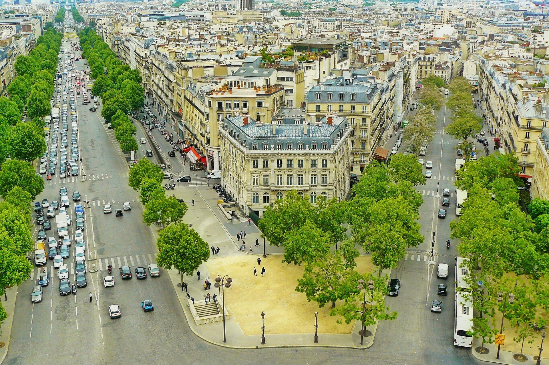 City, Paris, Road, Street, Urban, HQ Photo