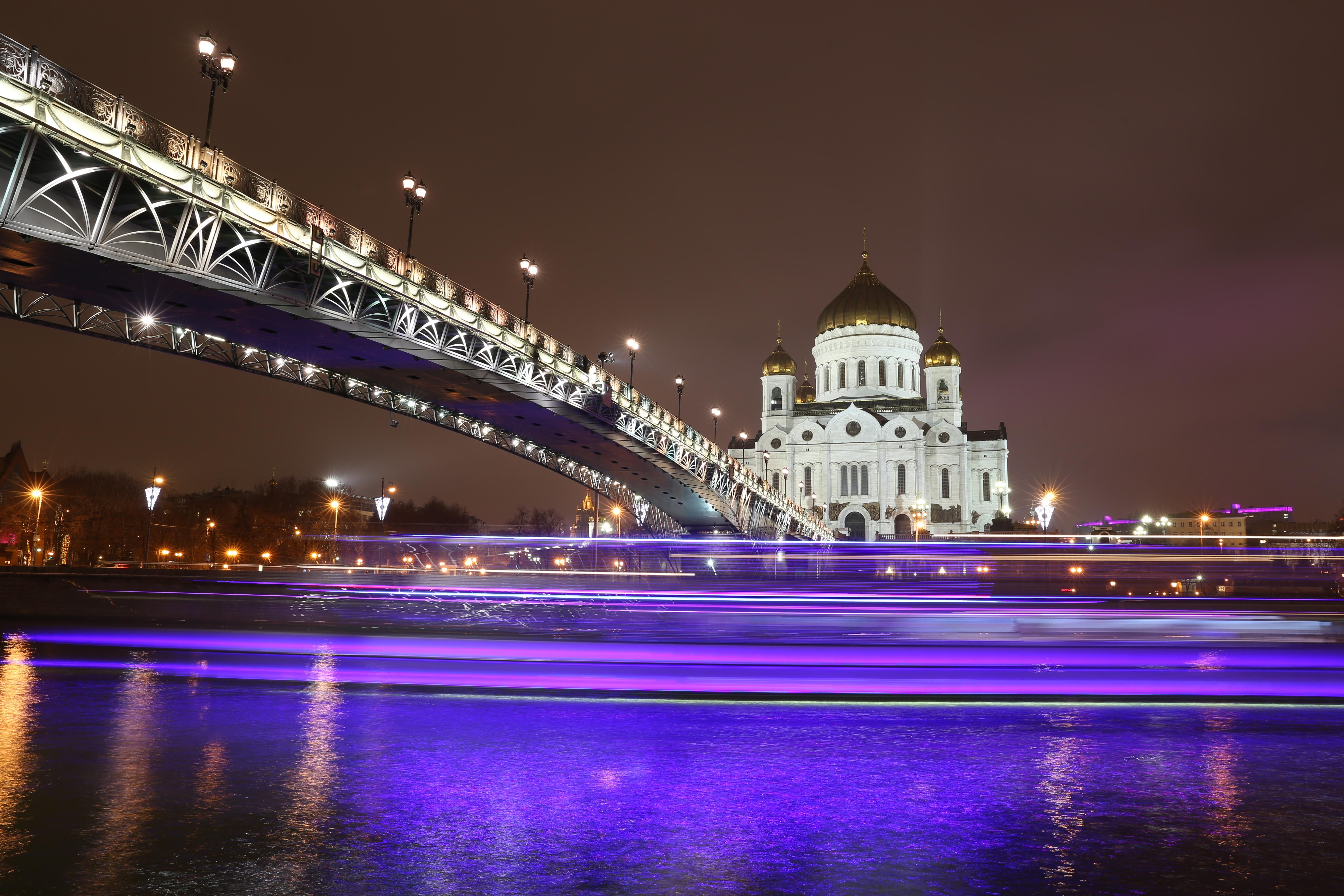 City, Bridge, Building, Construction, Light, HQ Photo