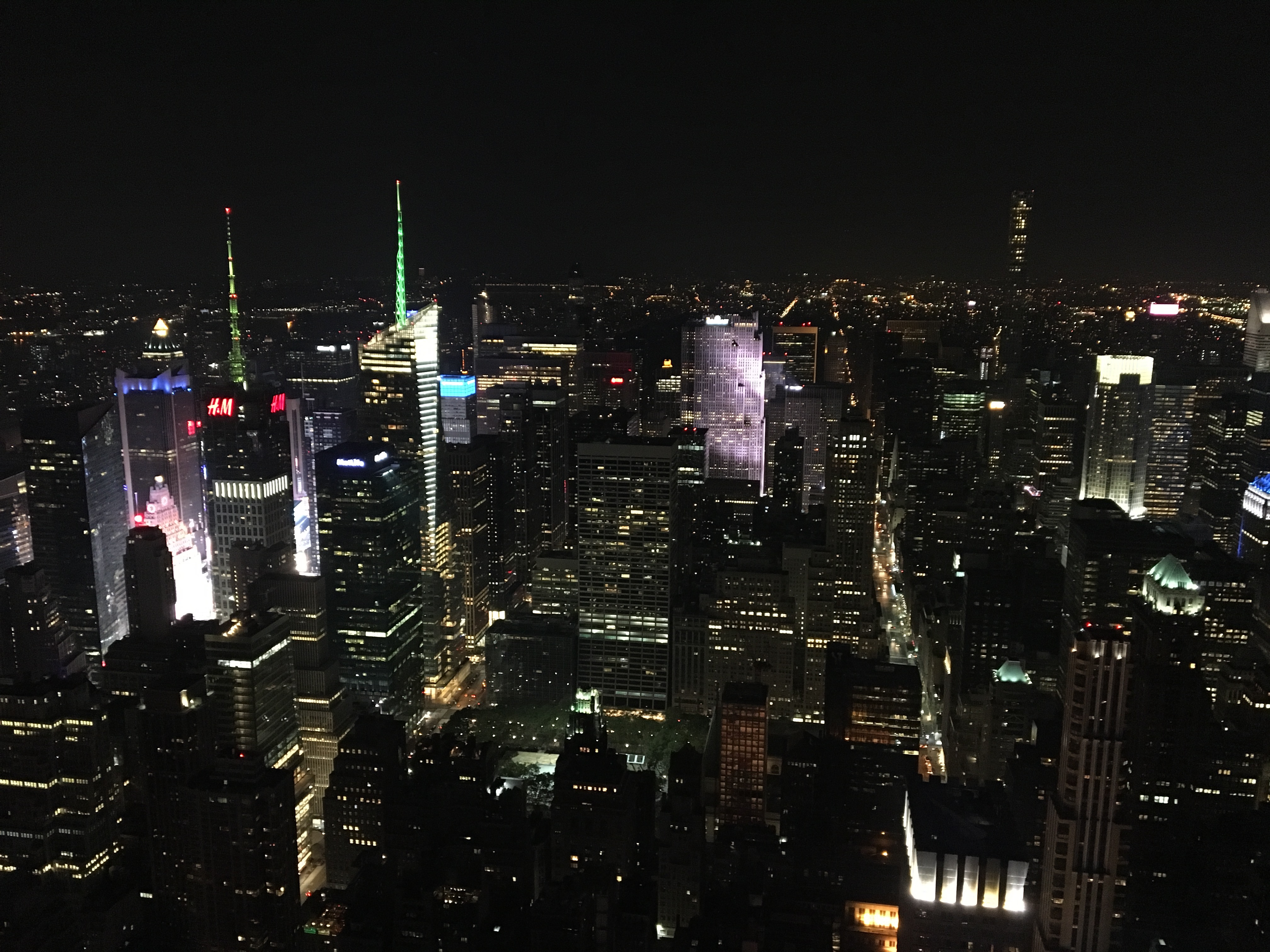 New York City at night « My blog