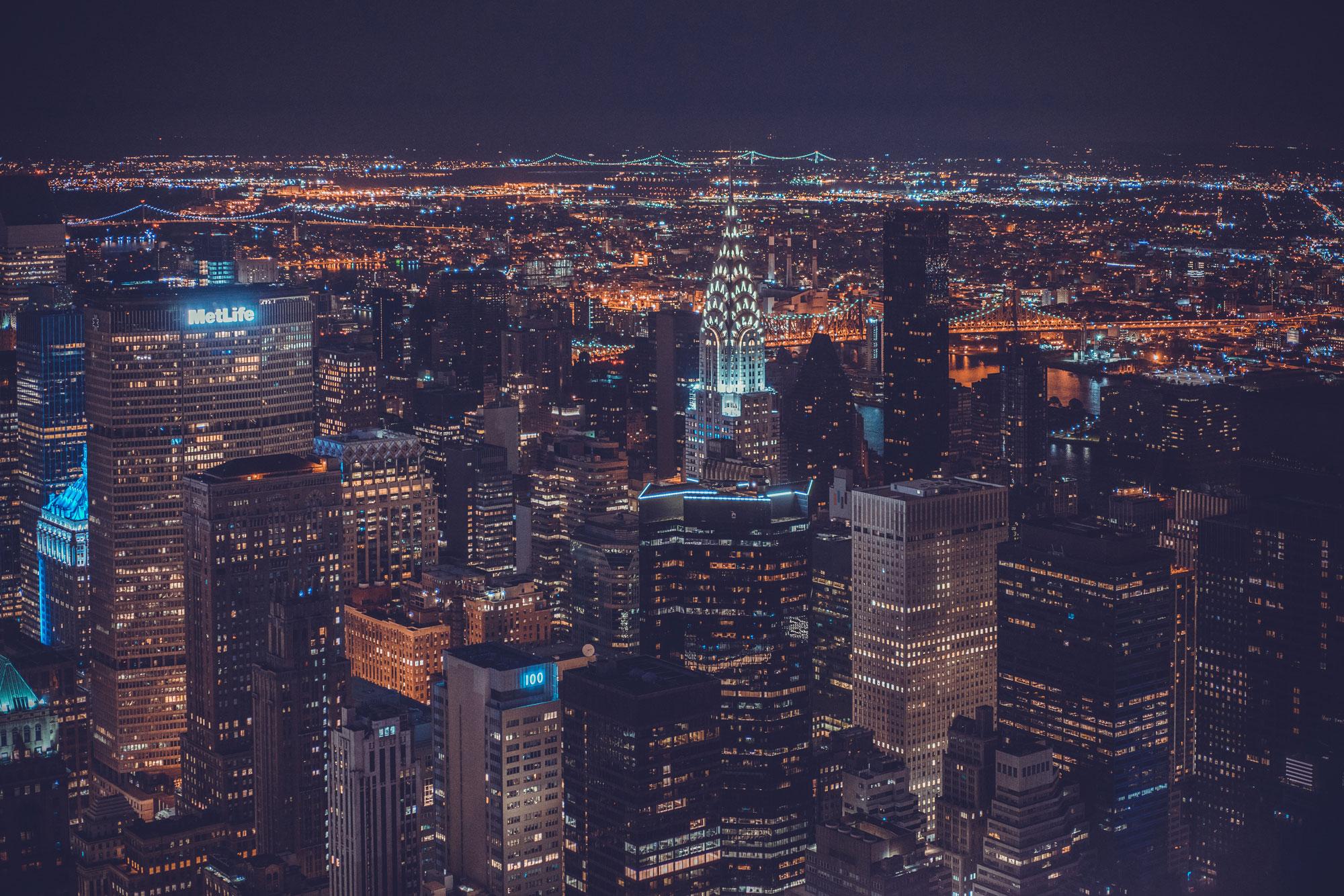 New York City at Night – Daniel Fürg Photography