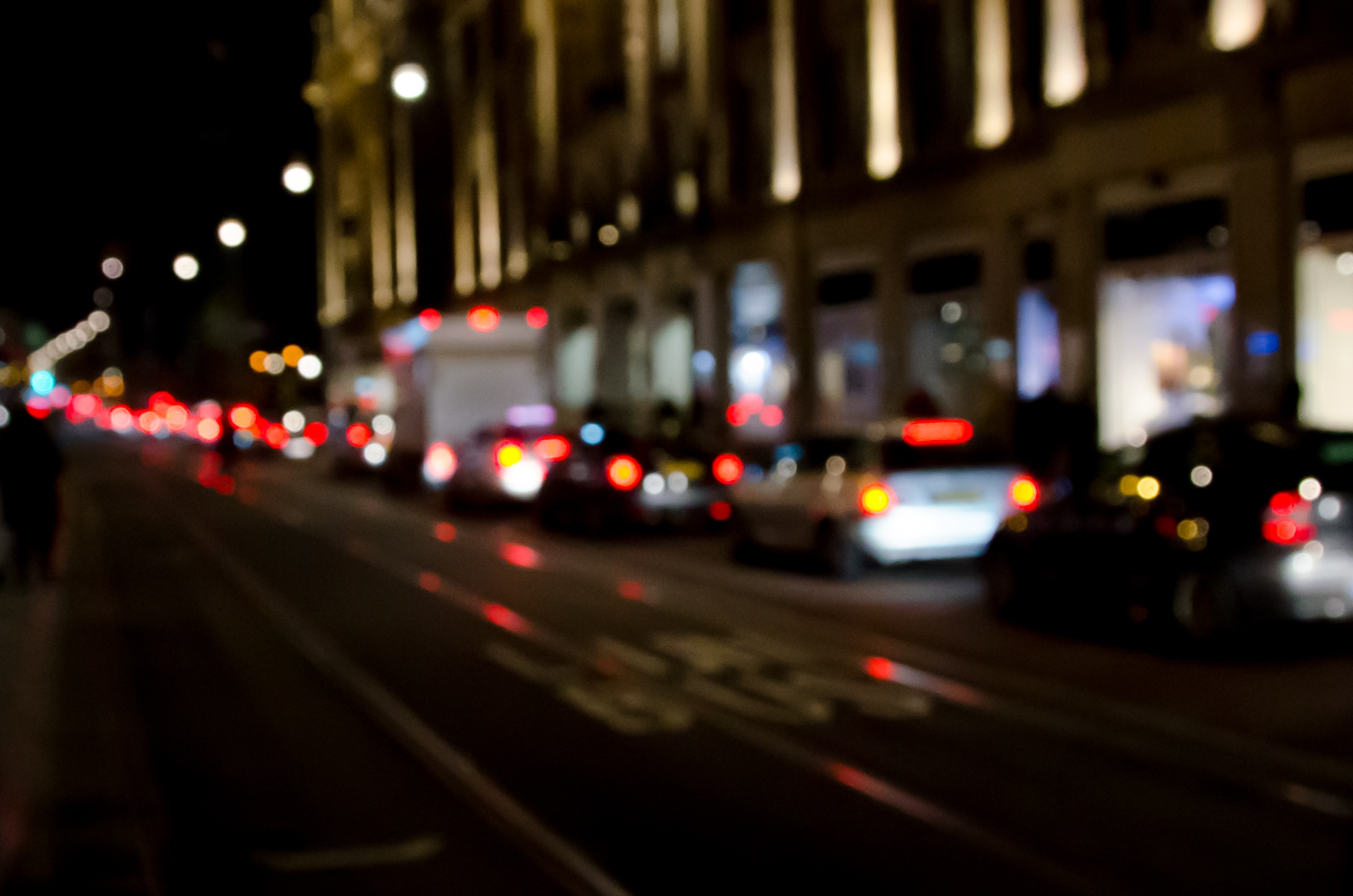 City at Night, Architecture, Bokeh, Building, Busy, HQ Photo