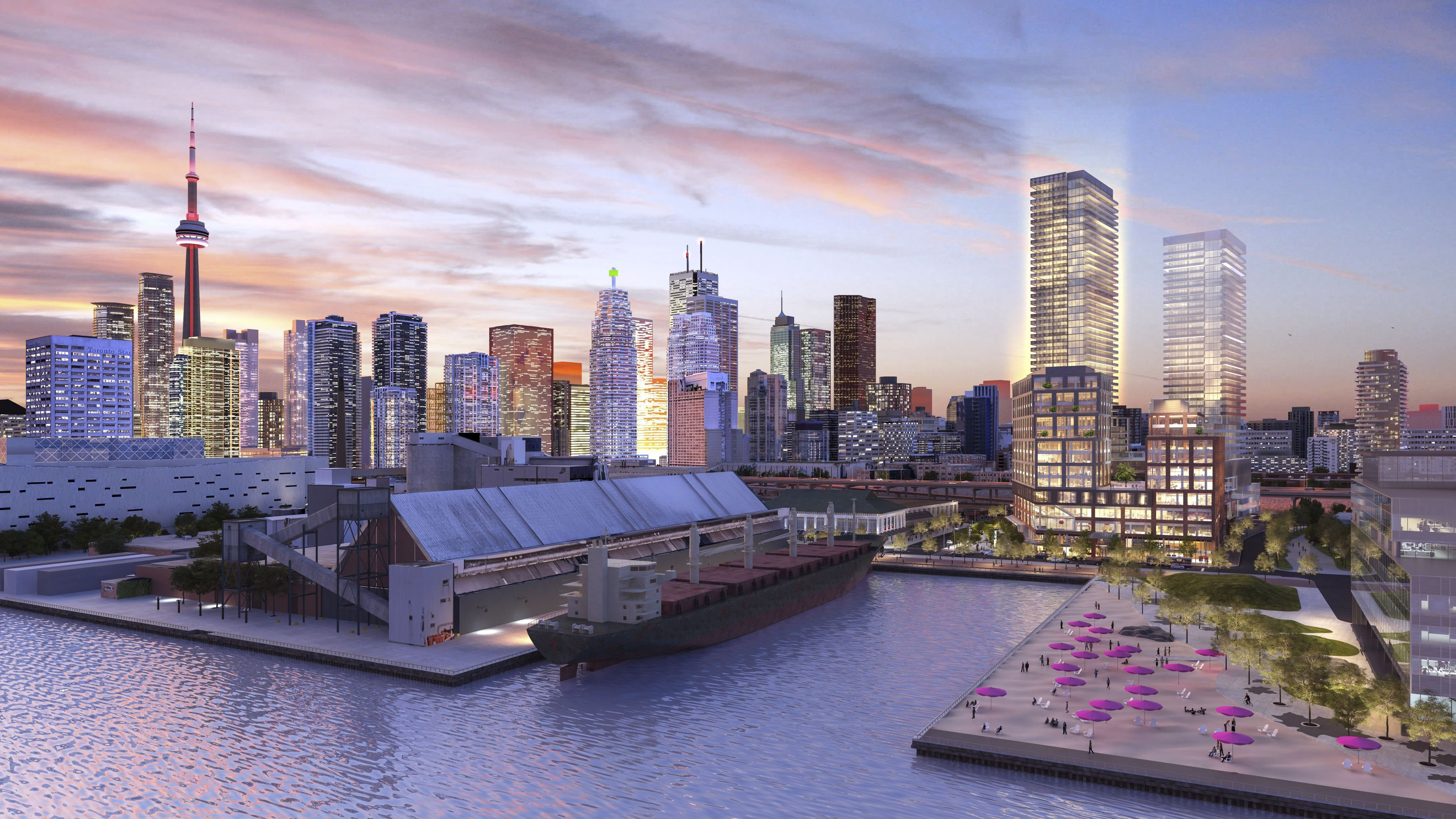 Groundbreaking Plans Unveiled for Daniels Waterfront - City of the ...