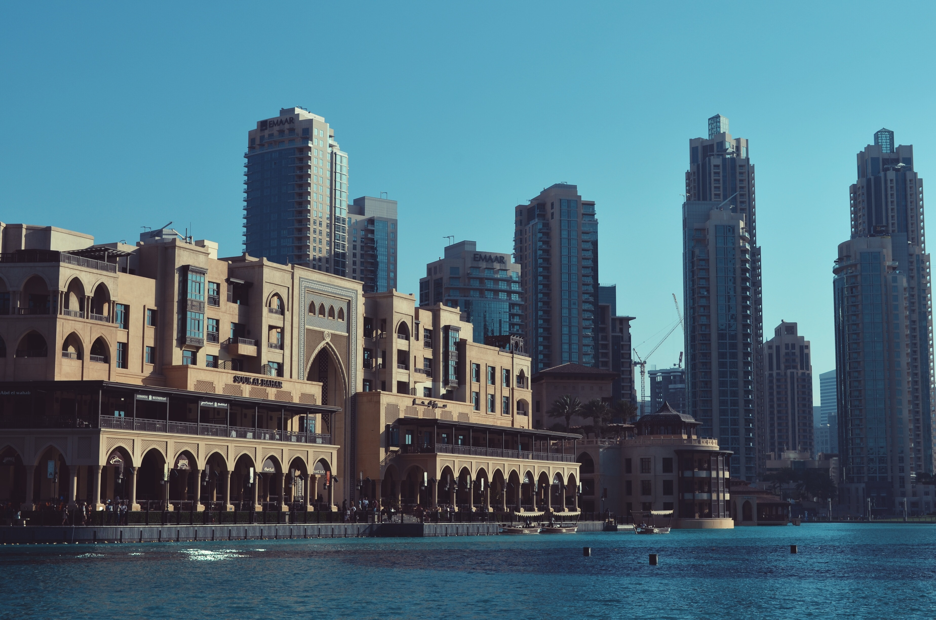 City at Waterfront, Architecture, Office, Water, Urban, HQ Photo