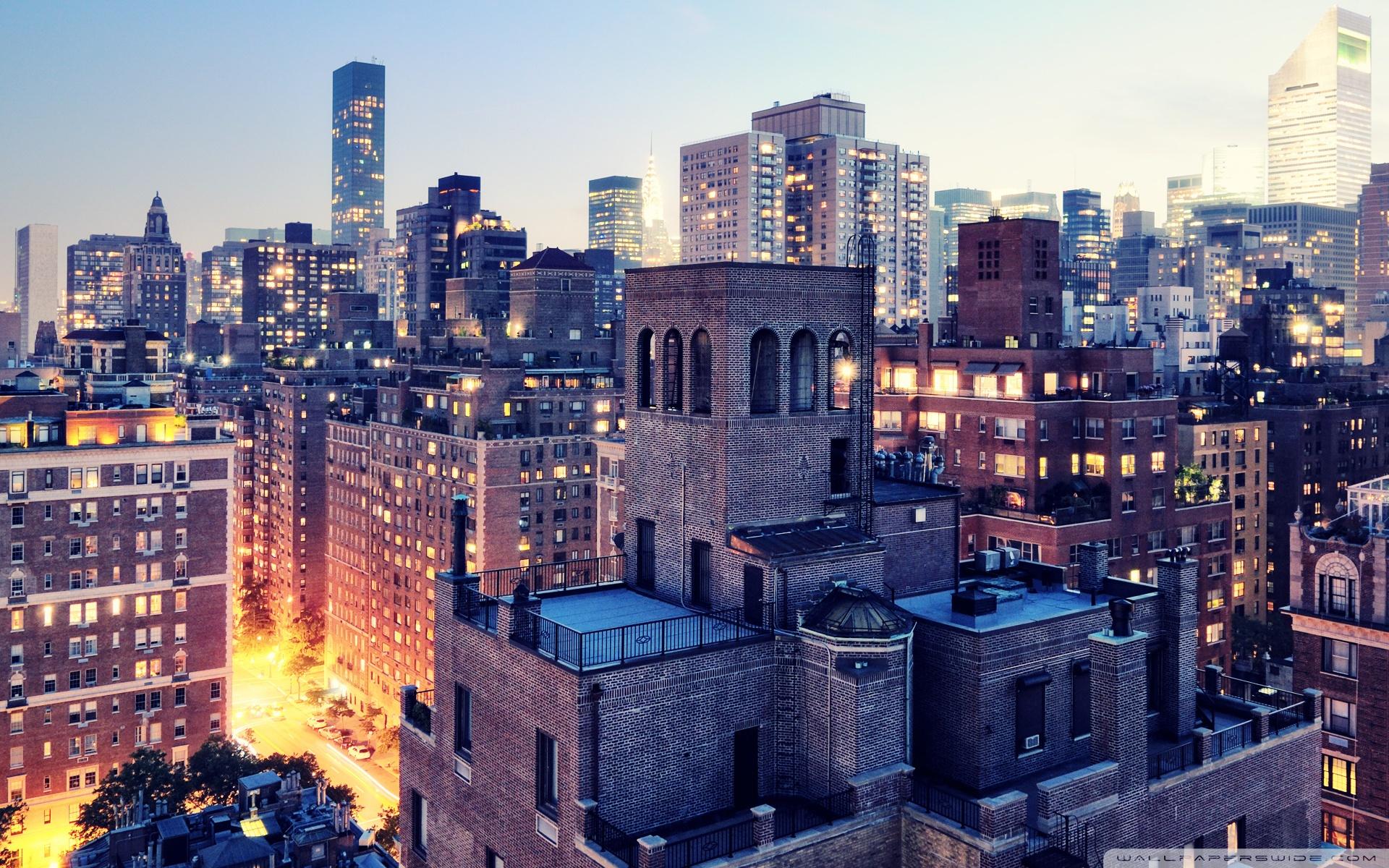 City Buildings At Night ❤ 4K HD Desktop Wallpaper for 4K Ultra HD ...