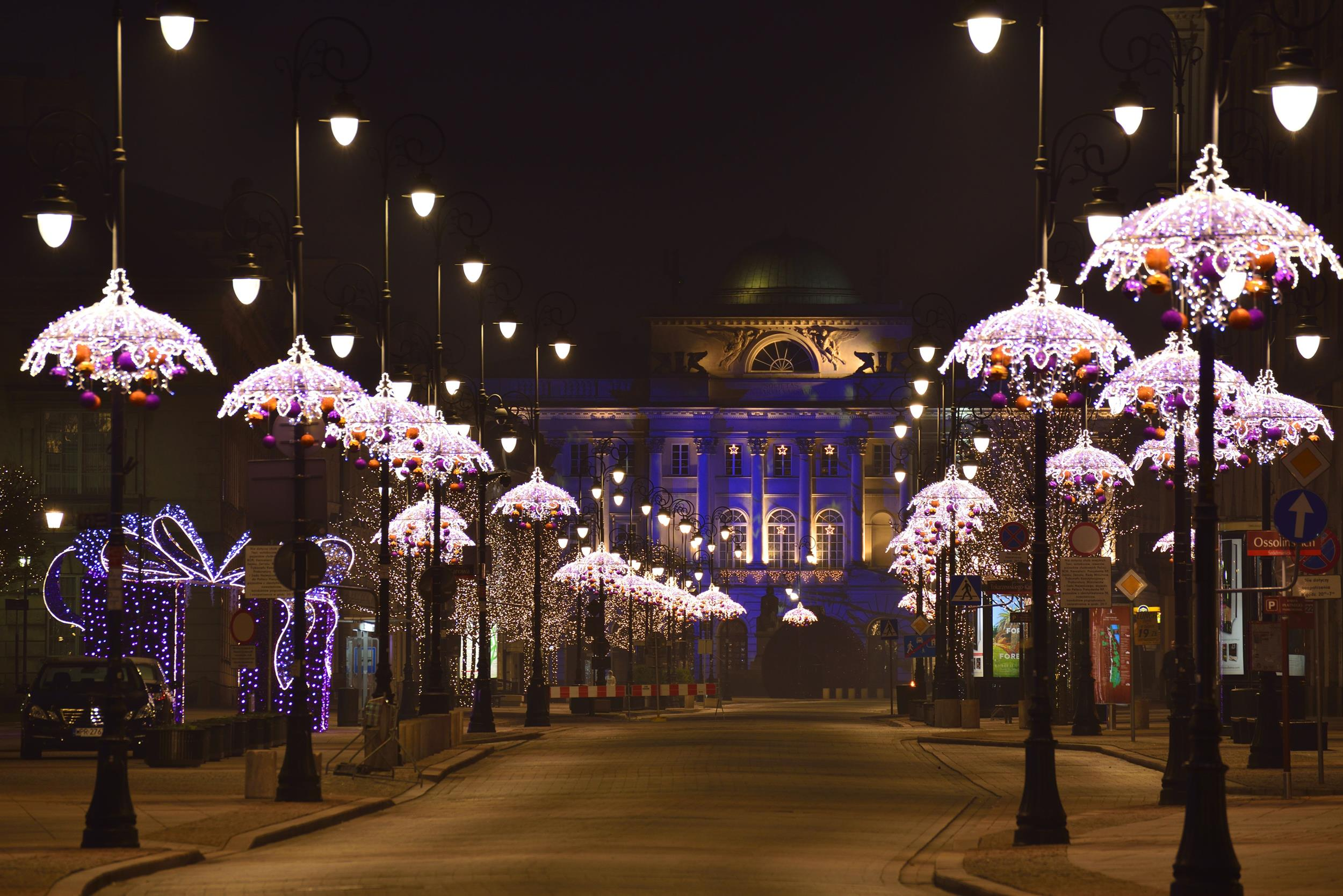 Explore beautifully decorated city - Warsaw City Break