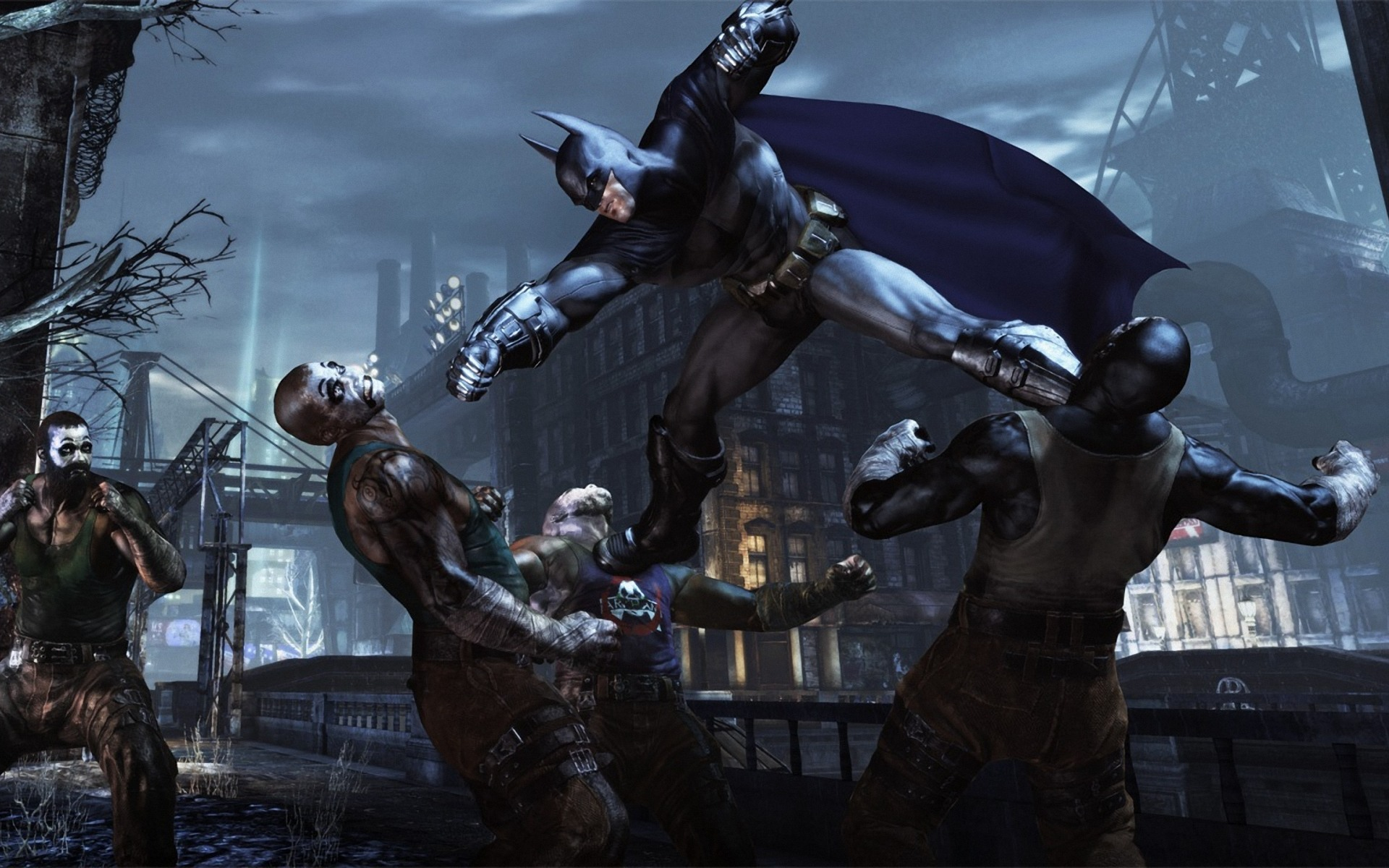 batman-arkham-city-fight | MITC Productions