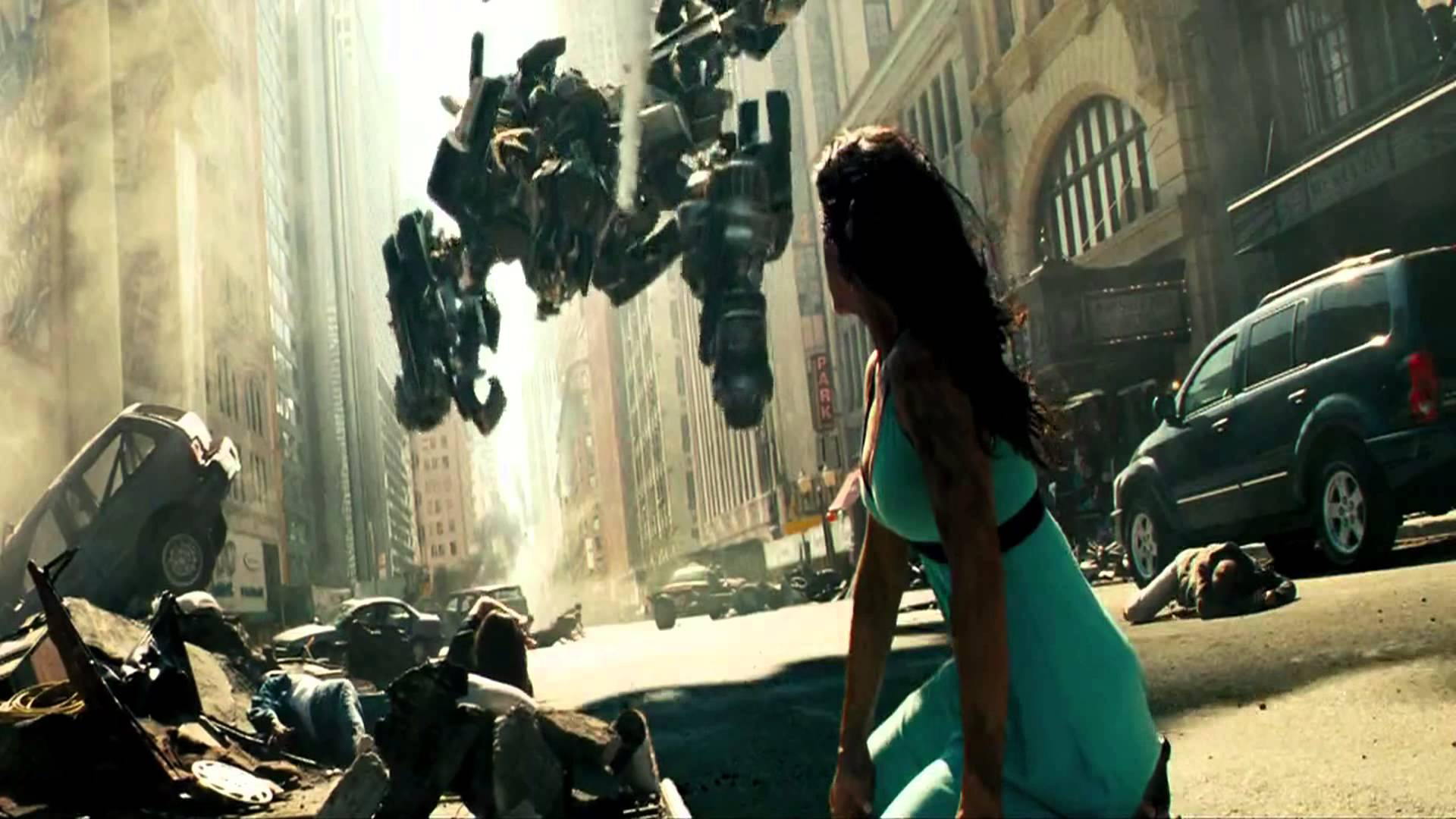 Transformers 1 - City Fight HQ (Brawl Vs Autobots) - YouTube
