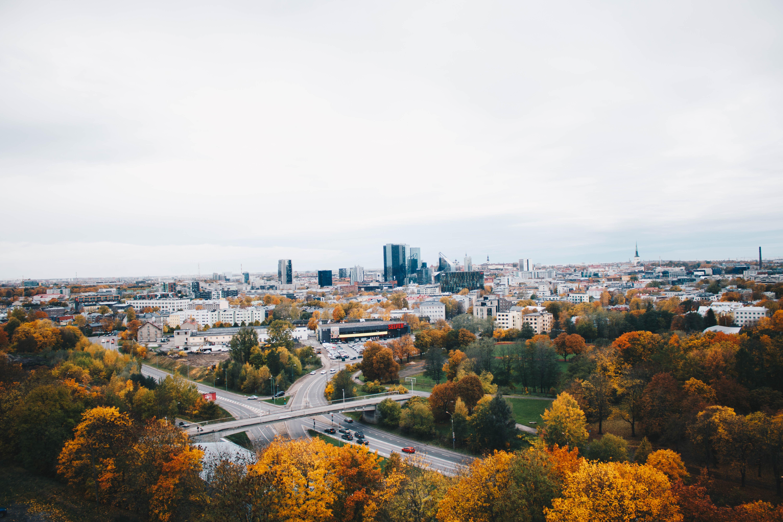 City Landscape, Architecture, Scenic, Vehicles, Urban, HQ Photo