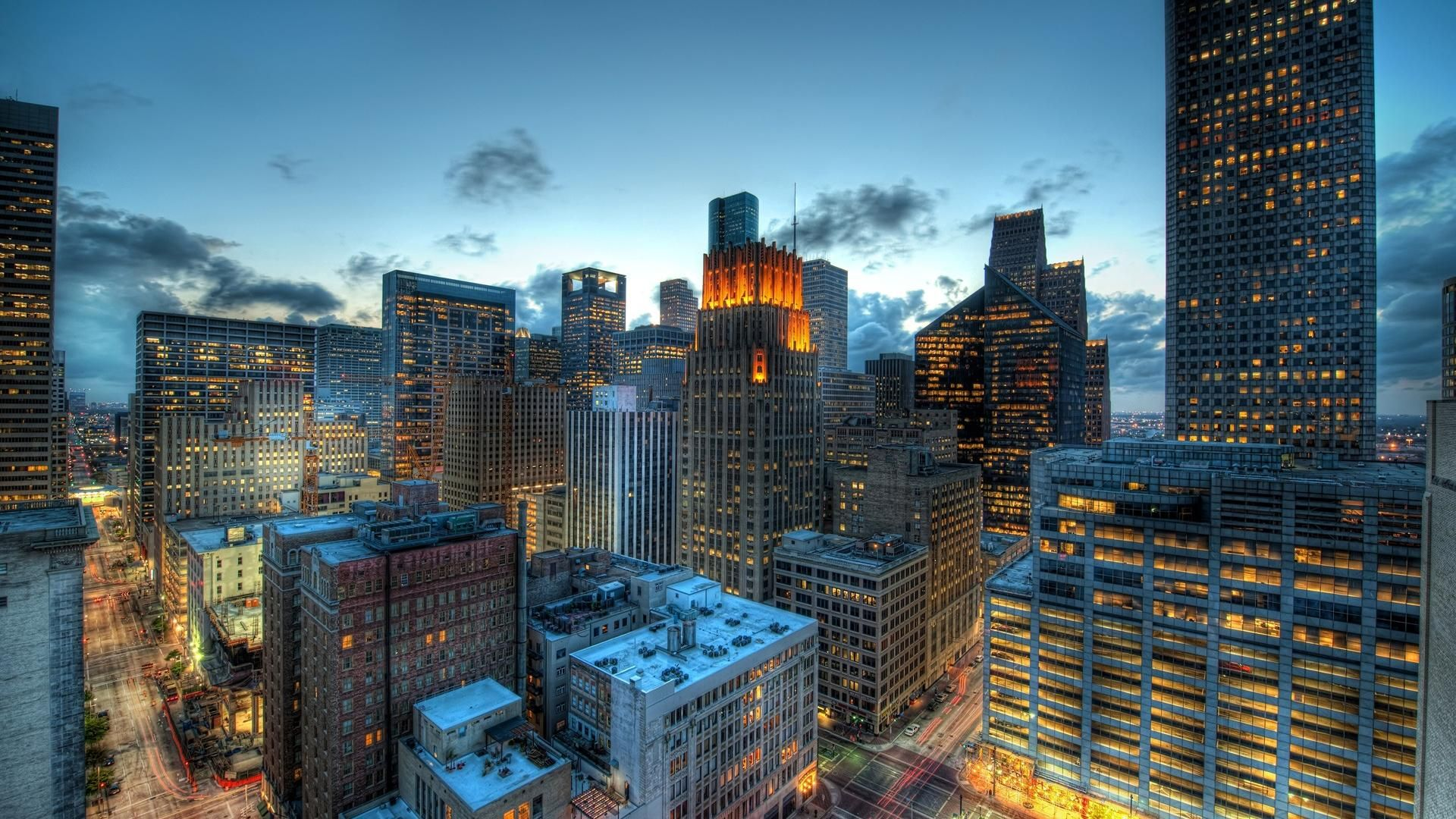 City landscape photo