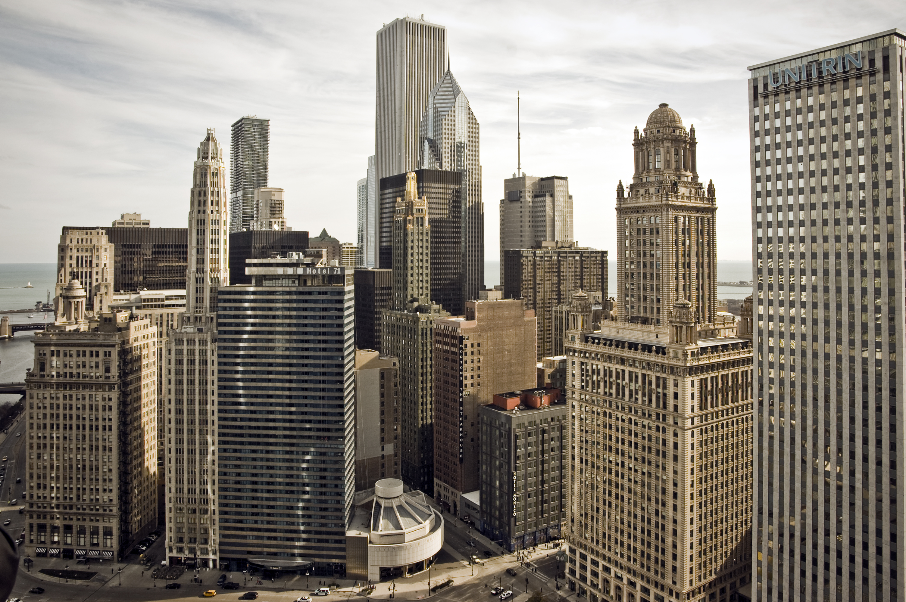 City Buildings HD Desktop Wallpaper, Instagram photo, Background ...