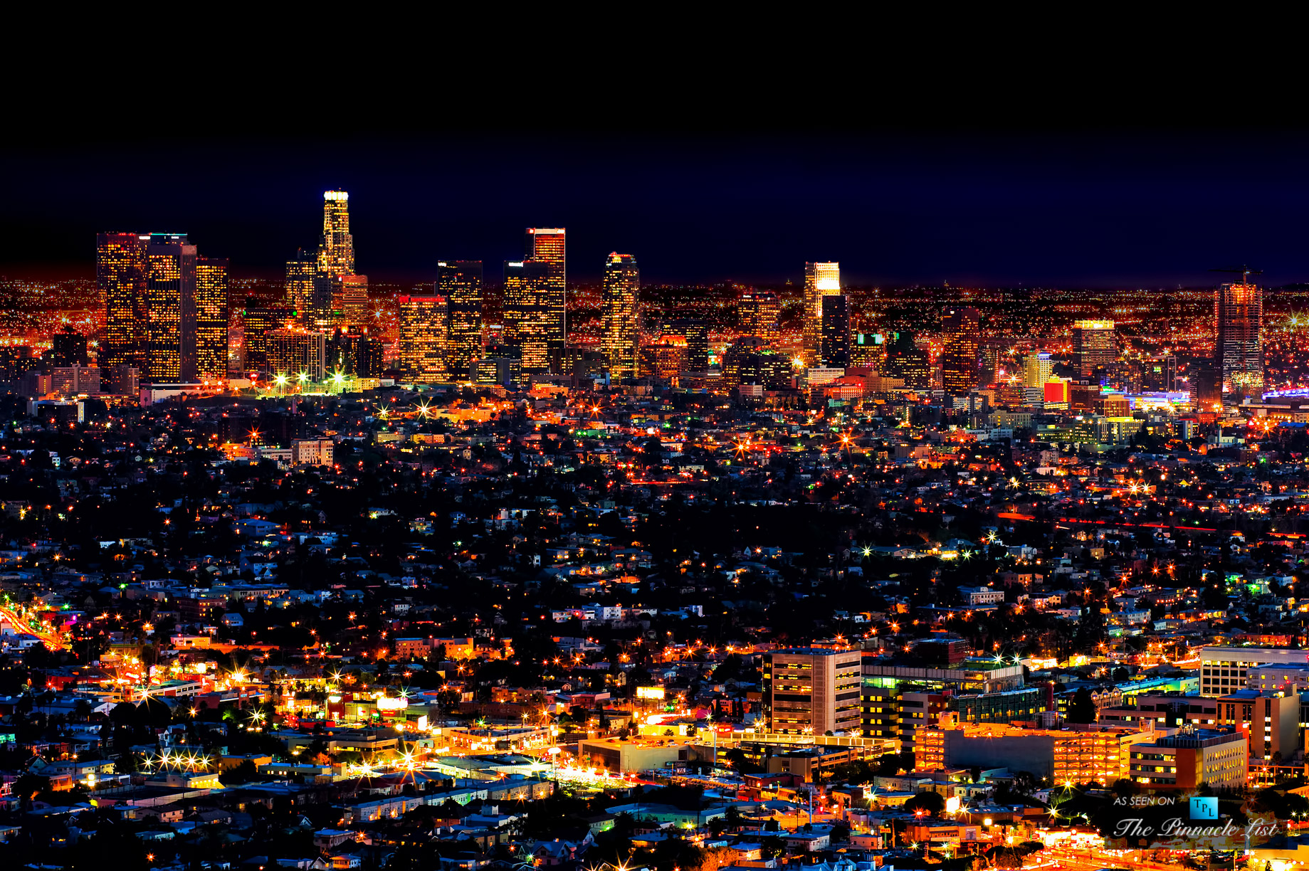 Los Angeles – Nightly Light Spectacle in the City of Angels and ...
