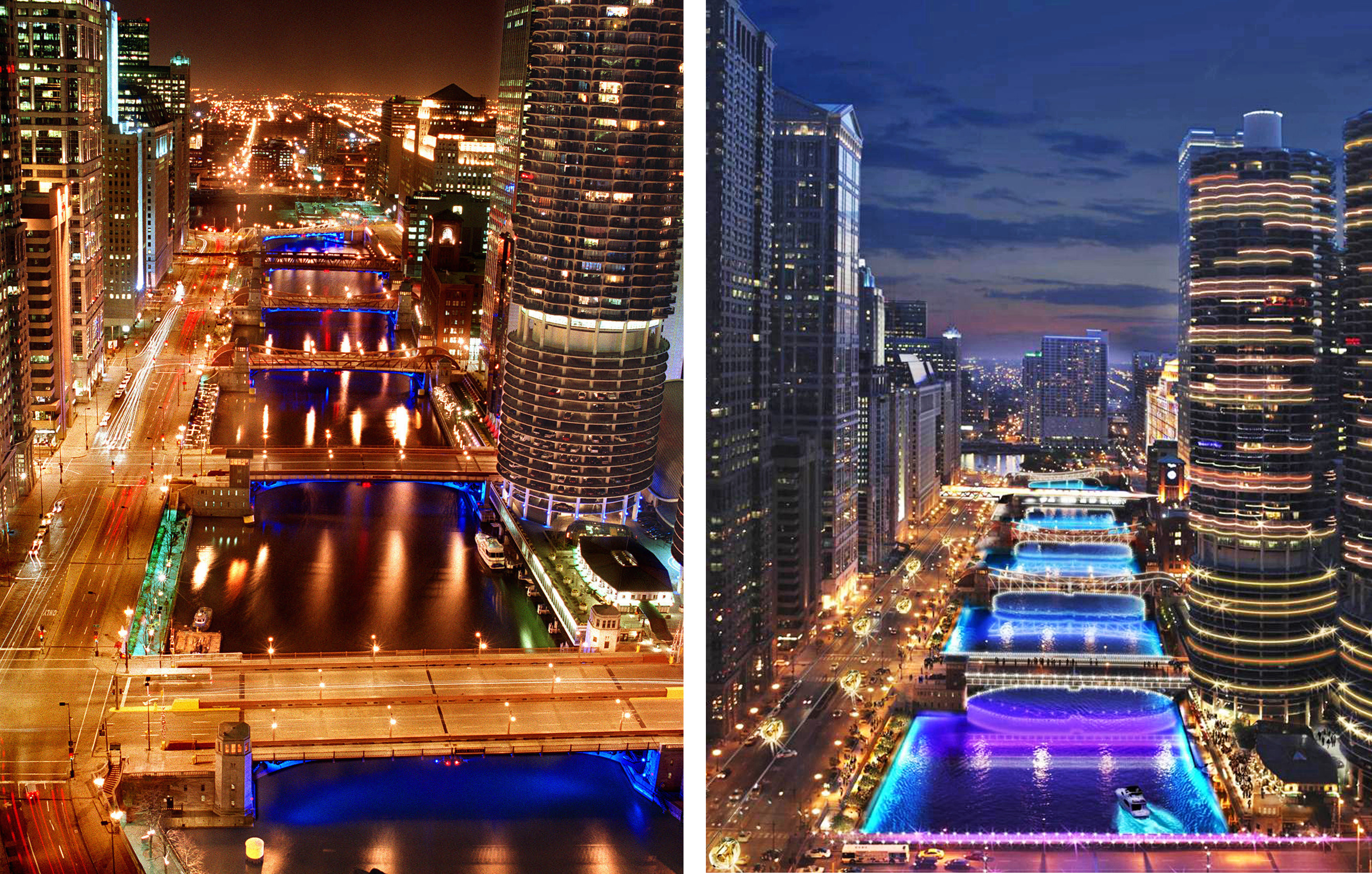Top City Of Lights Chicago F35 On Simple Image Collection with City ...