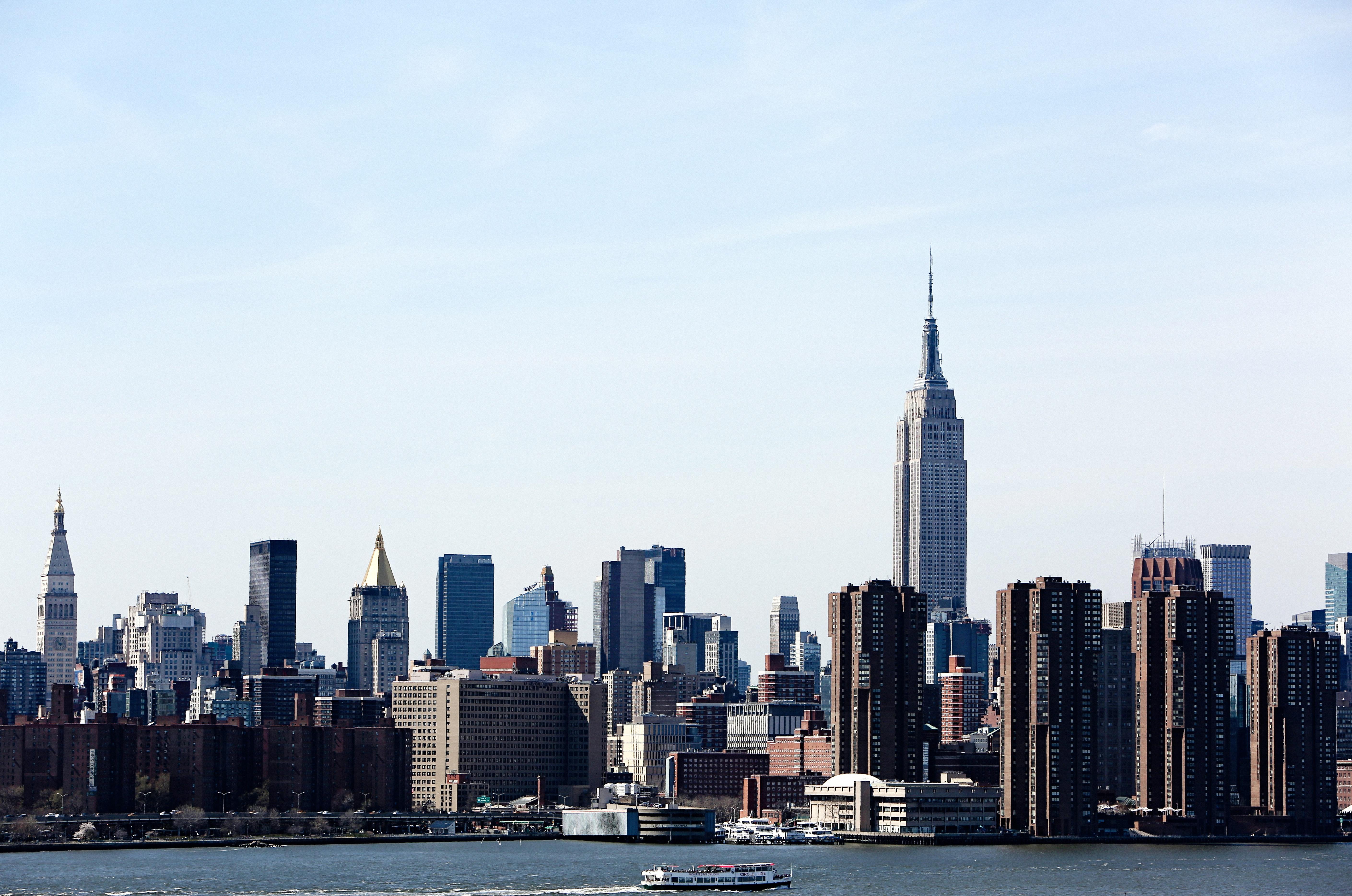 free photo city skylines shown skyline river pier free