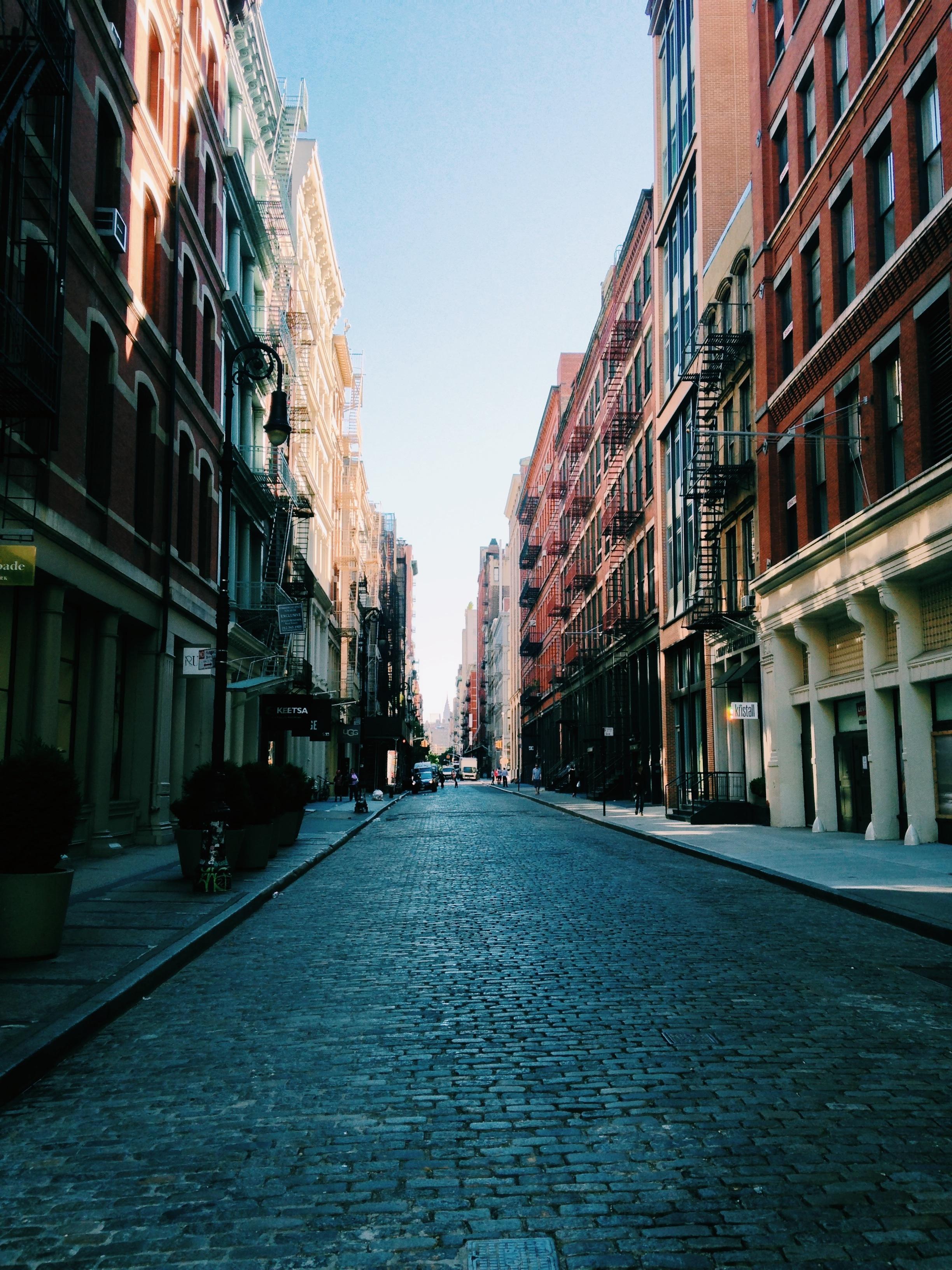 City Street, Building, City, Construction, Path, HQ Photo