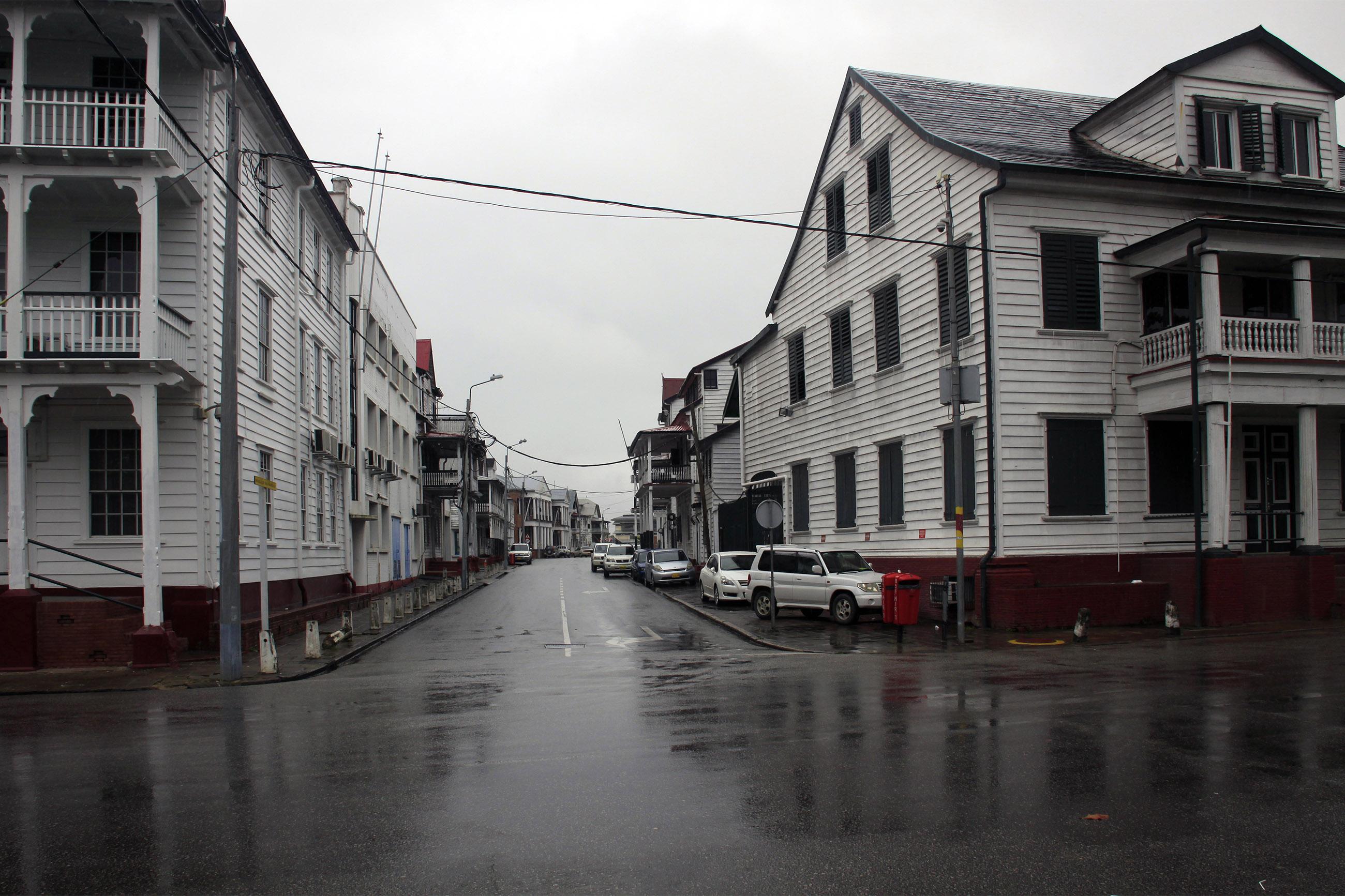City street , suriname photo