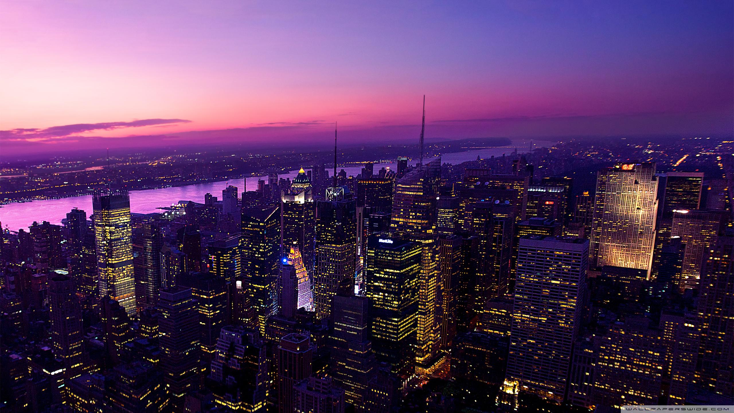City Sunset ❤ 4K HD Desktop Wallpaper for 4K Ultra HD TV • Wide ...