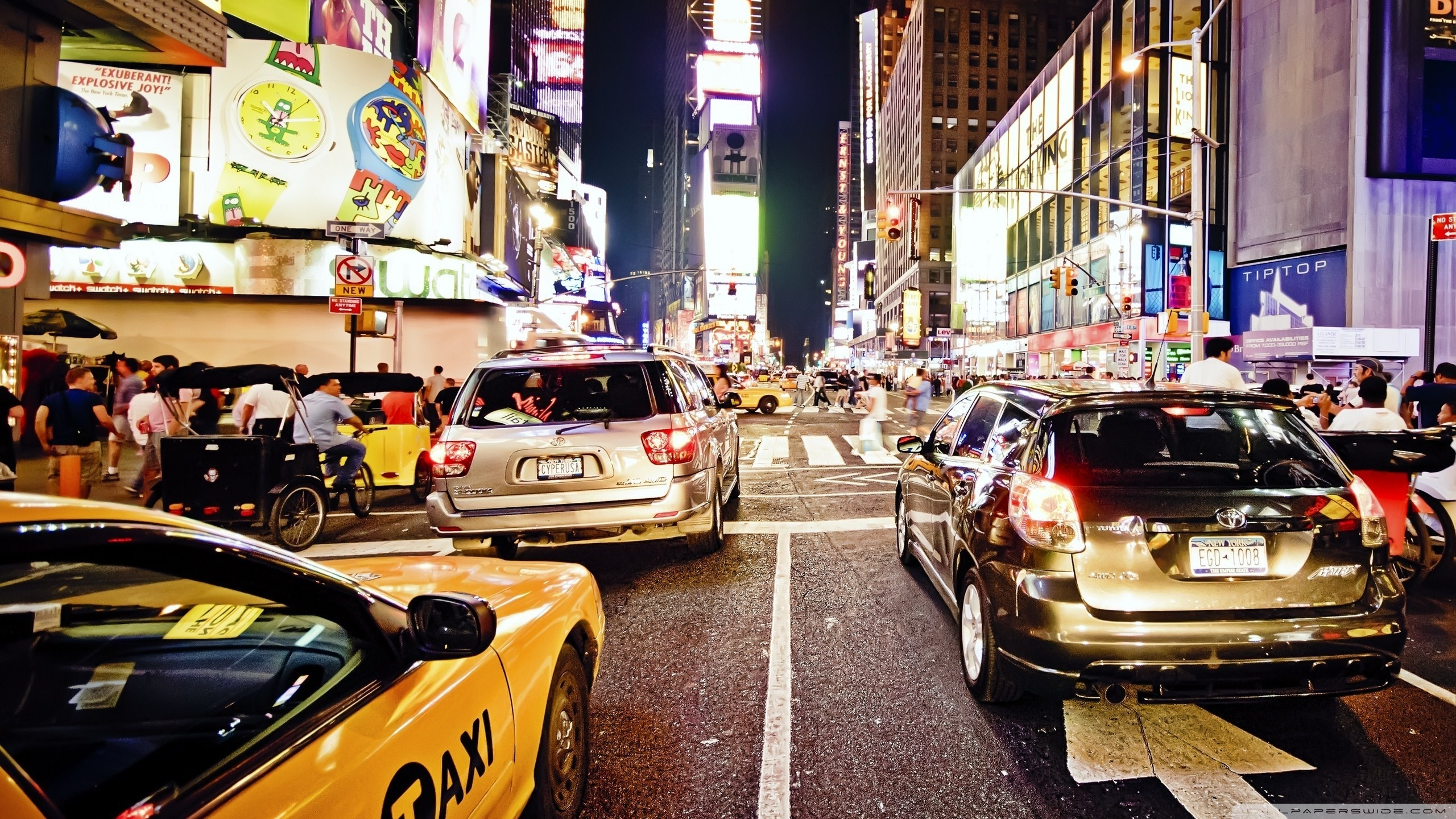 New York City Traffic ❤ 4K HD Desktop Wallpaper for 4K Ultra HD TV ...
