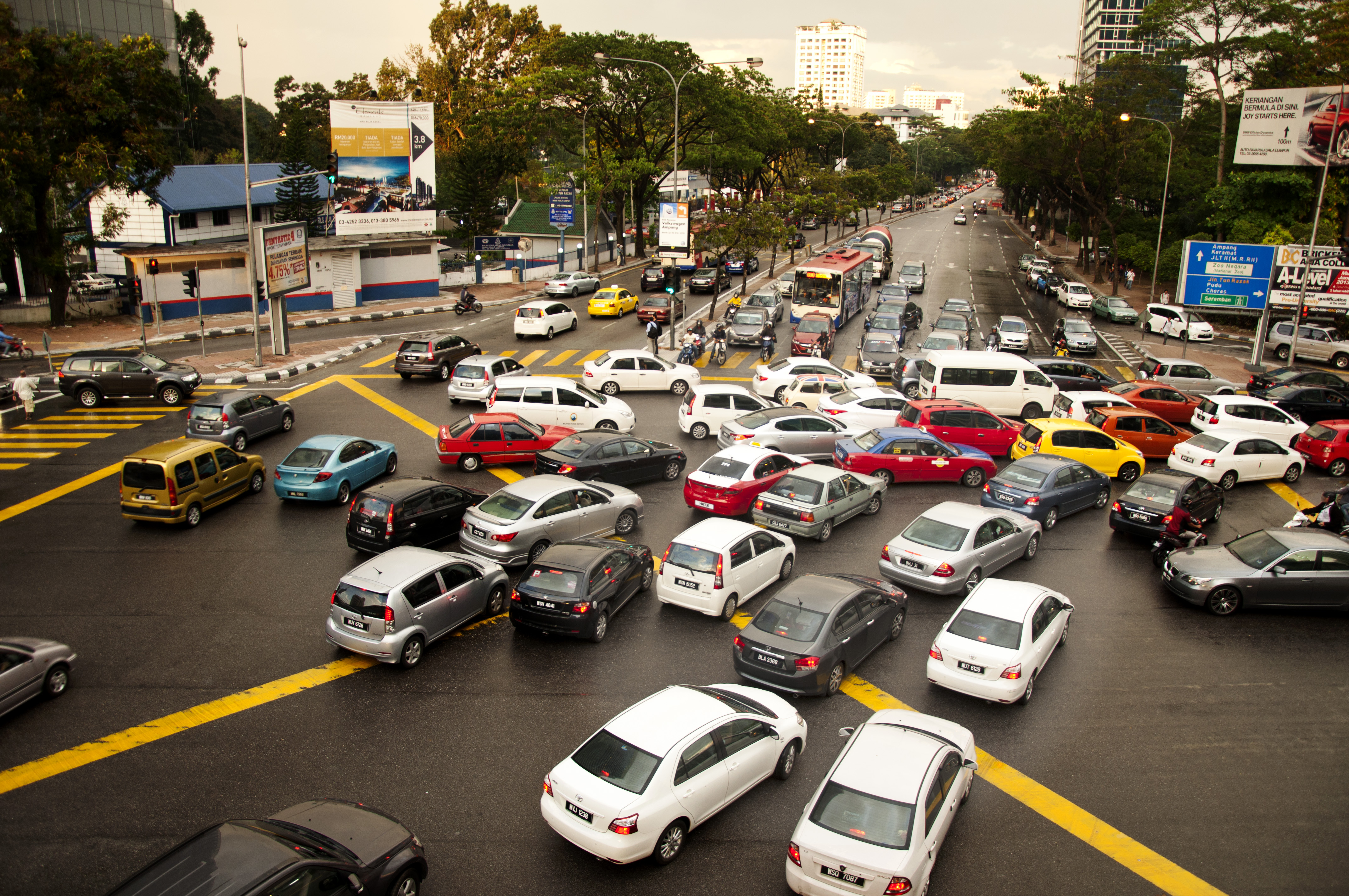 Endless traffic jams in Kuala Lumpur city | Mohd Juhary