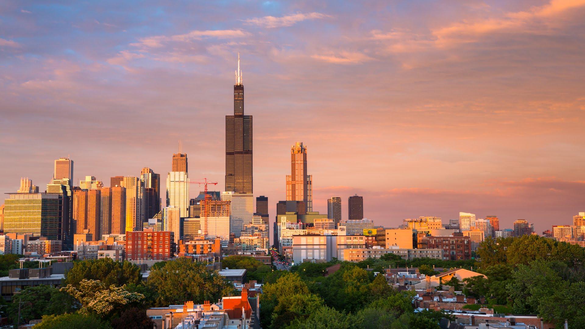 Cityscape Chicago II 4K - YouTube
