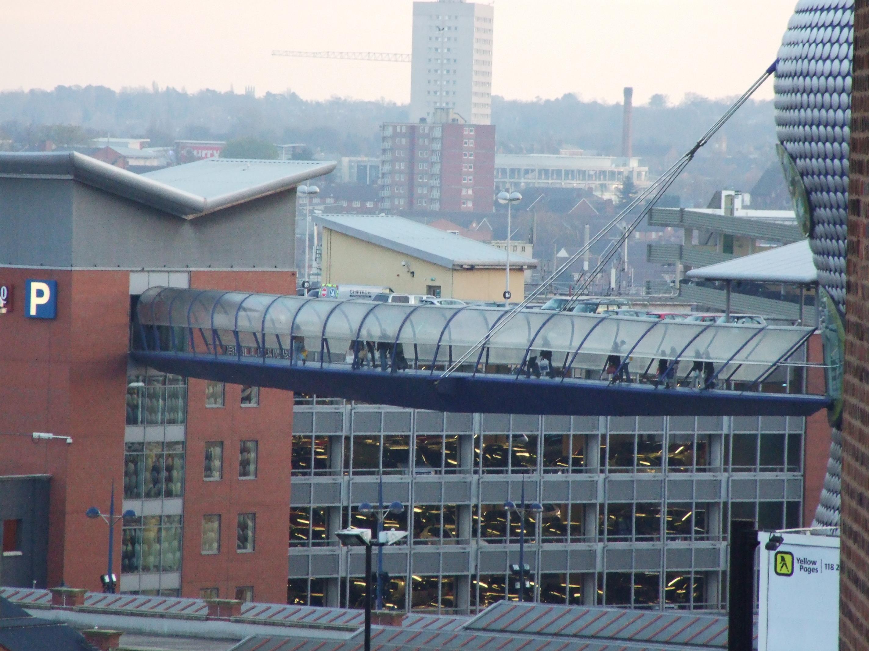 Cityscape, Birmingham, Bridge, Buildings, Bullring, HQ Photo